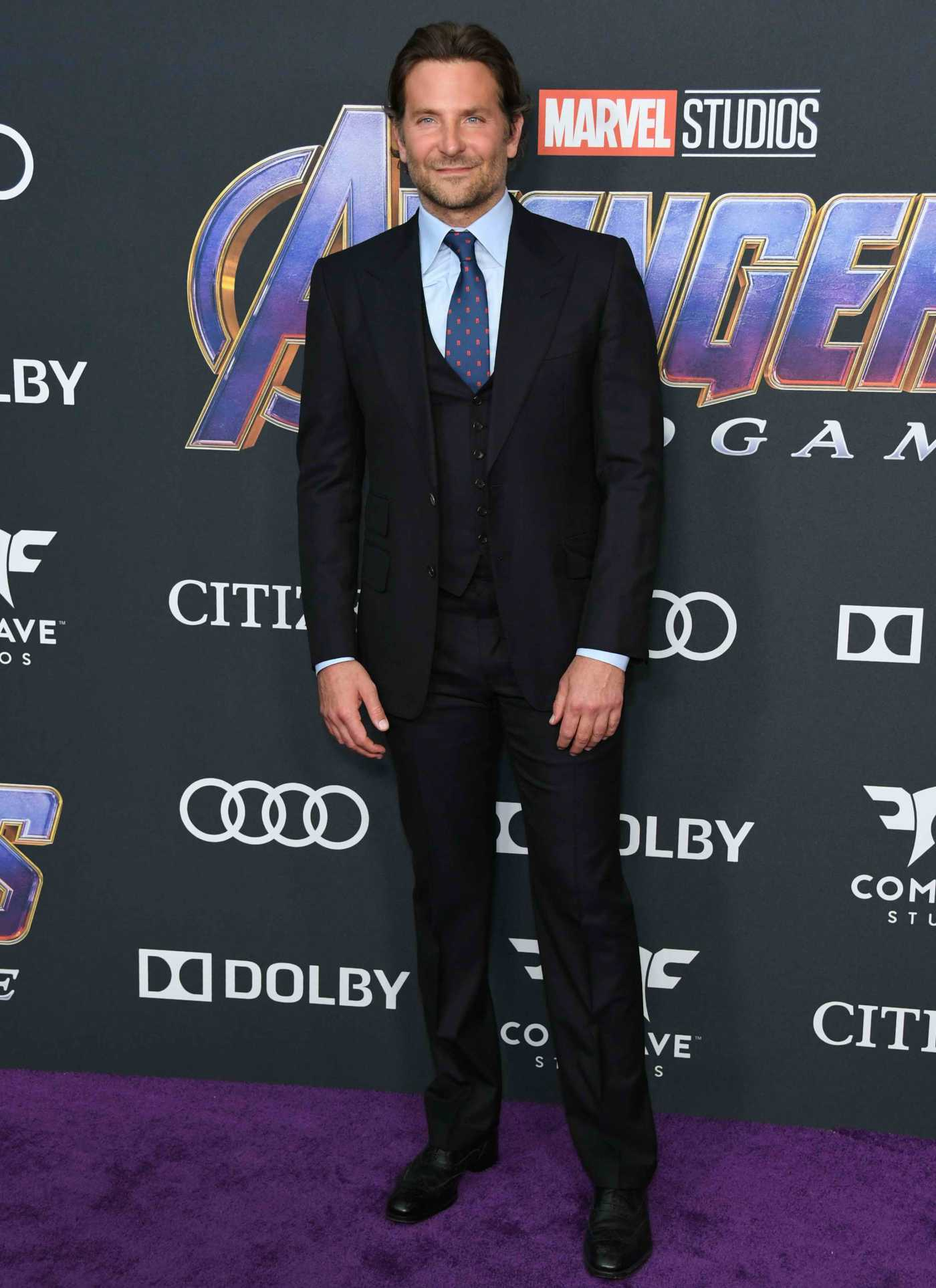 Bradley Cooper Attends Avengers: Endgame Premiere in Los Angeles 04/22/2019