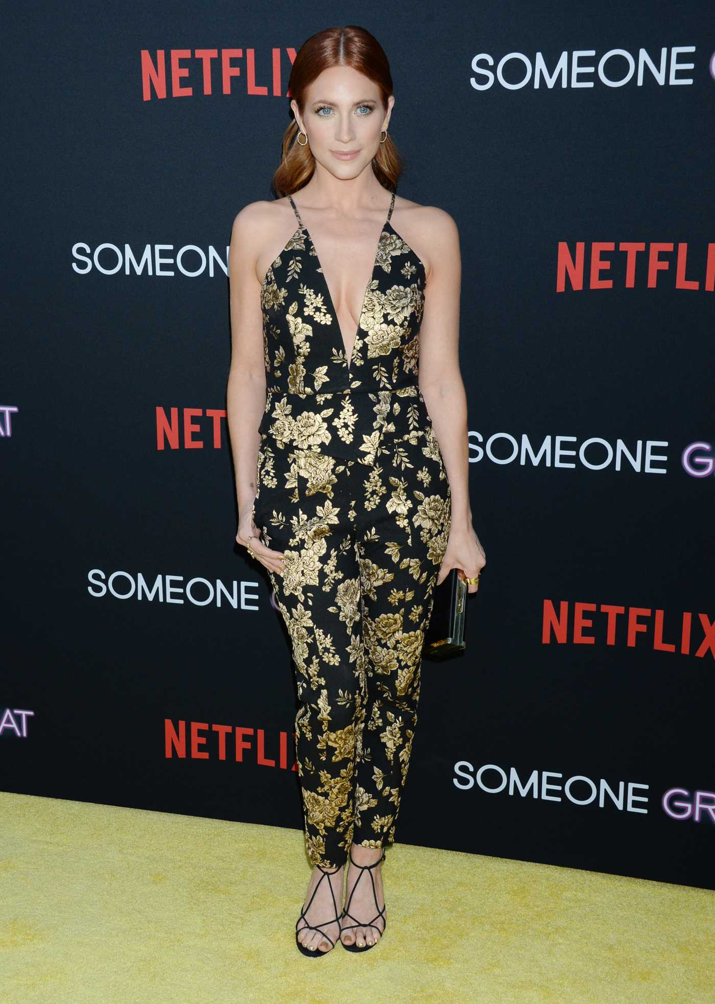 Brittany Snow Attends the Someone Great Premiere in LA 04/17/2019