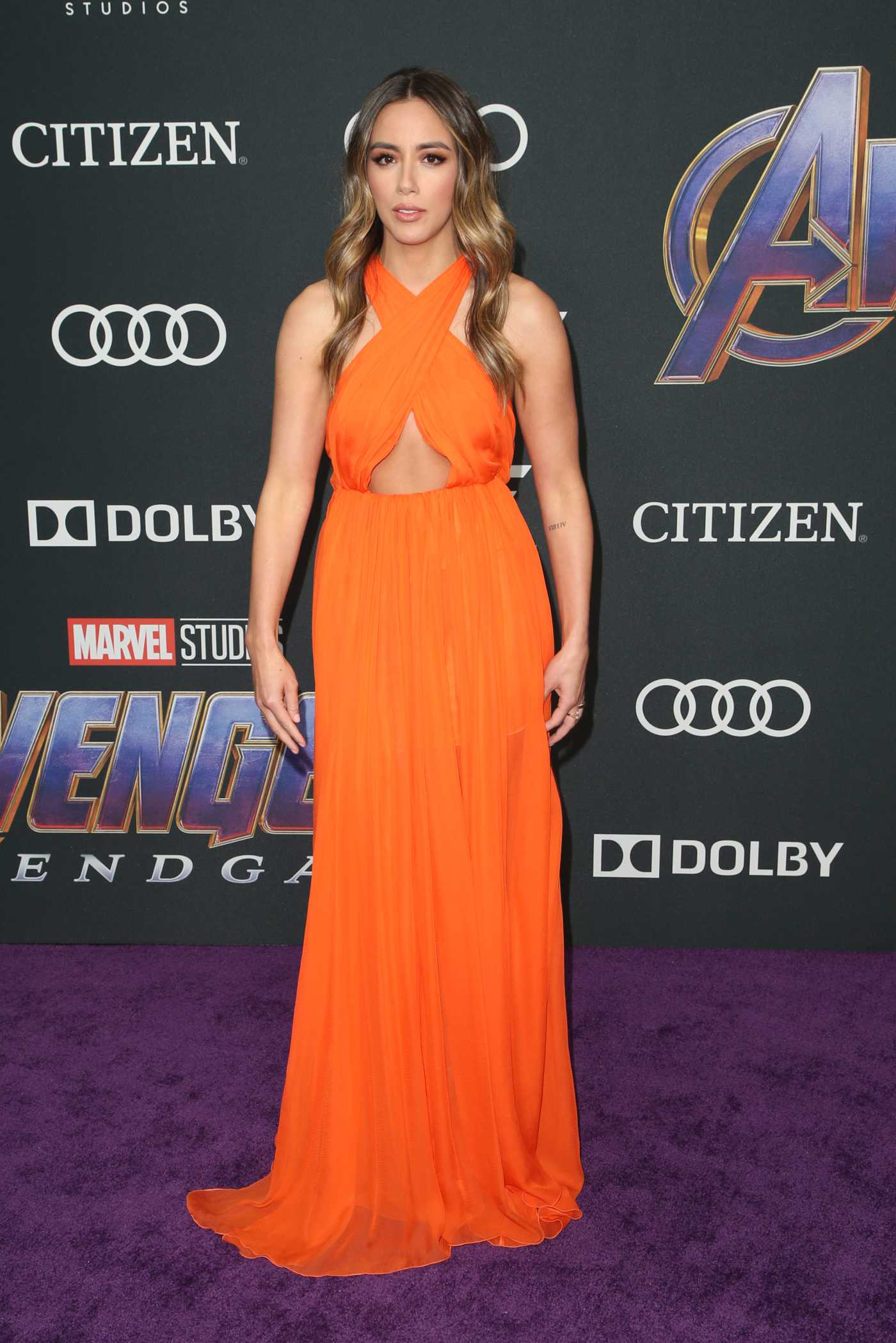 Chloe Bennet Attends Avengers: Endgame Premiere in Los Angeles 04/22/2019
