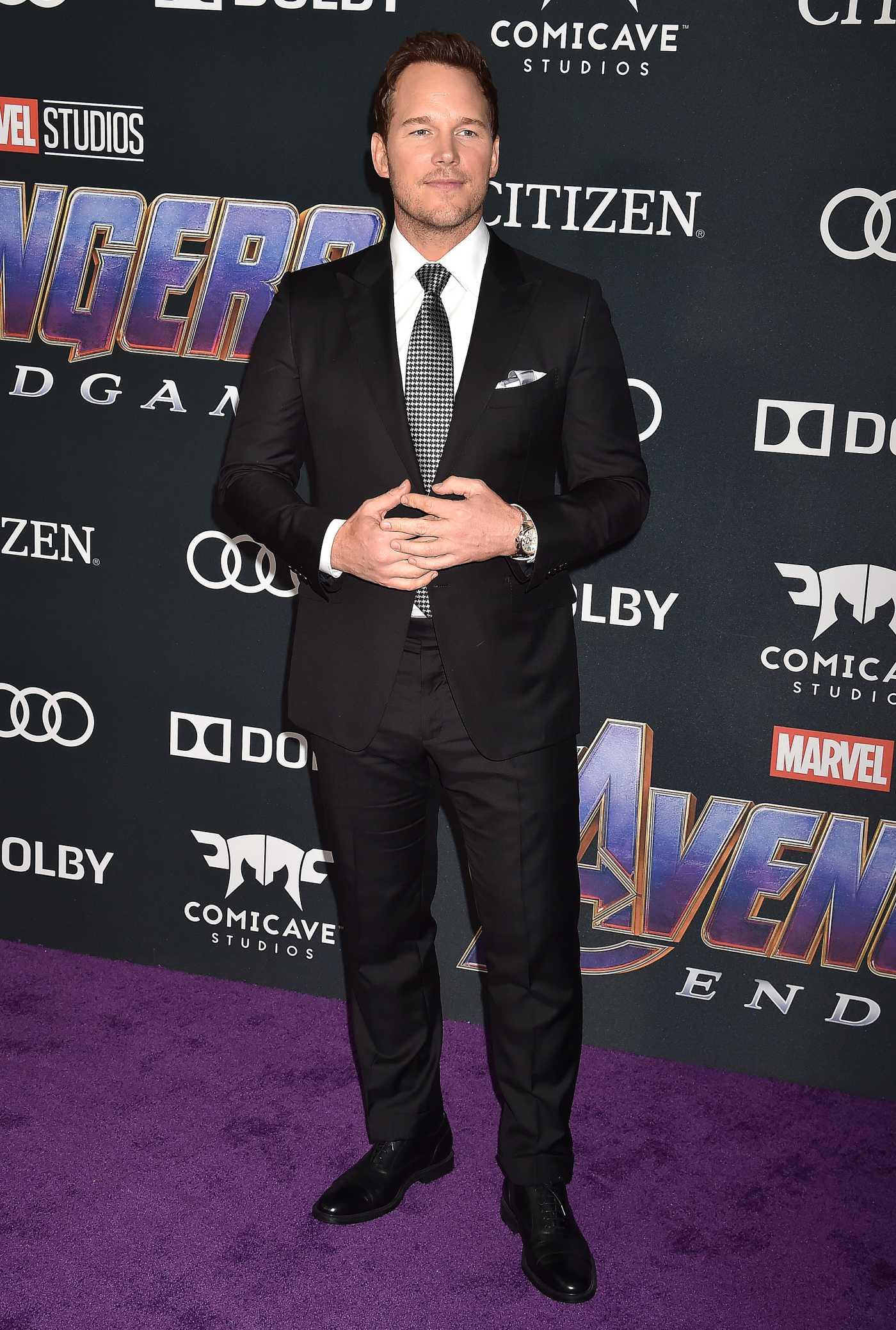 Chris Pratt Attends Avengers: Endgame Premiere in Los Angeles 04/22/2019