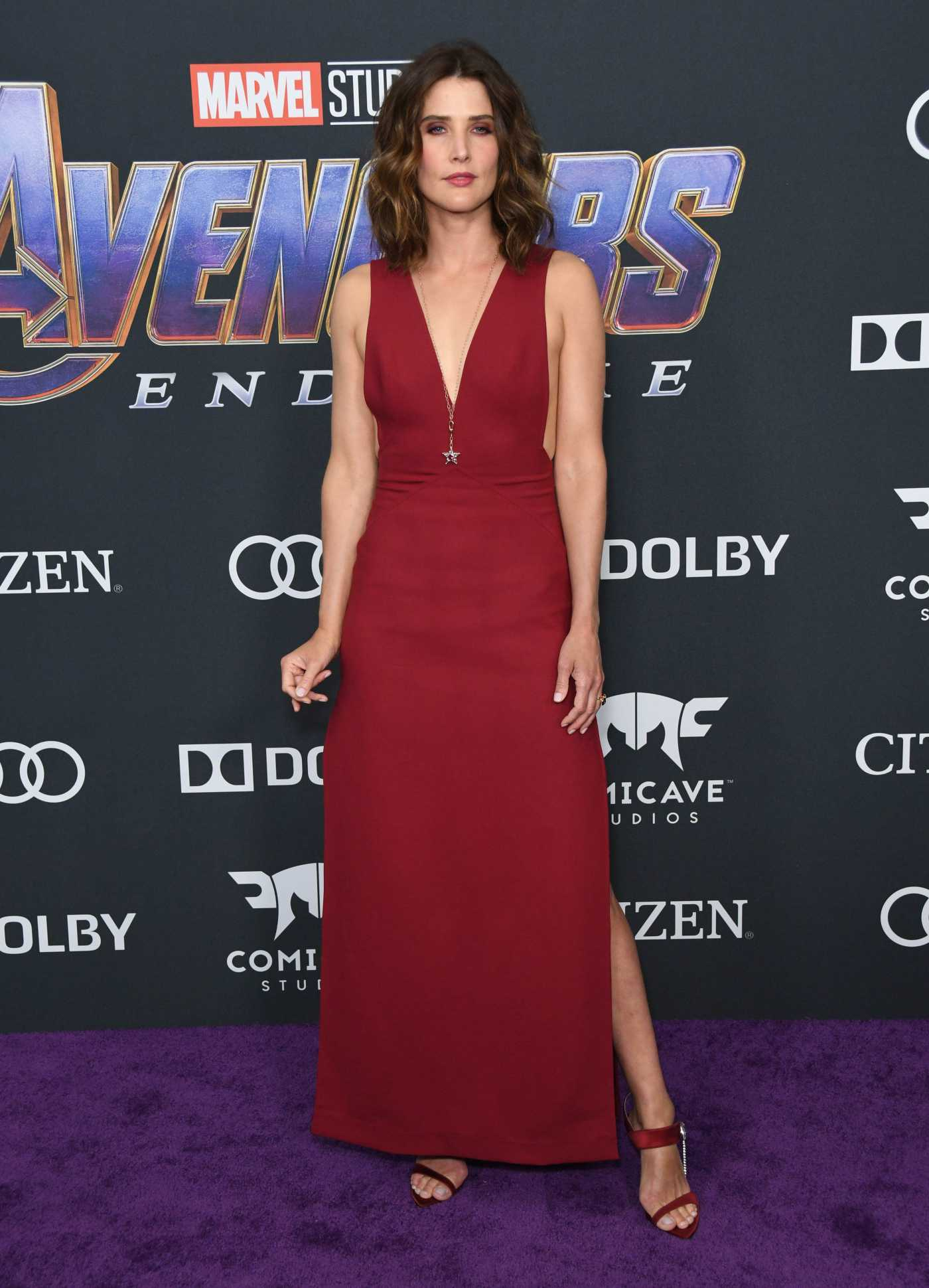 Cobie Smulders Attends Avengers: Endgame Premiere in Los Angeles 04/22/2019