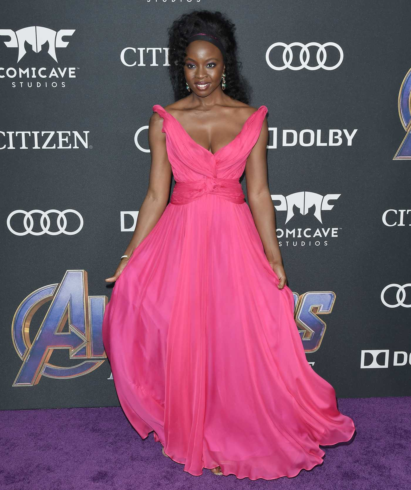 Danai Gurira Attends Avengers: Endgame Premiere in Los Angeles 04/22/2019