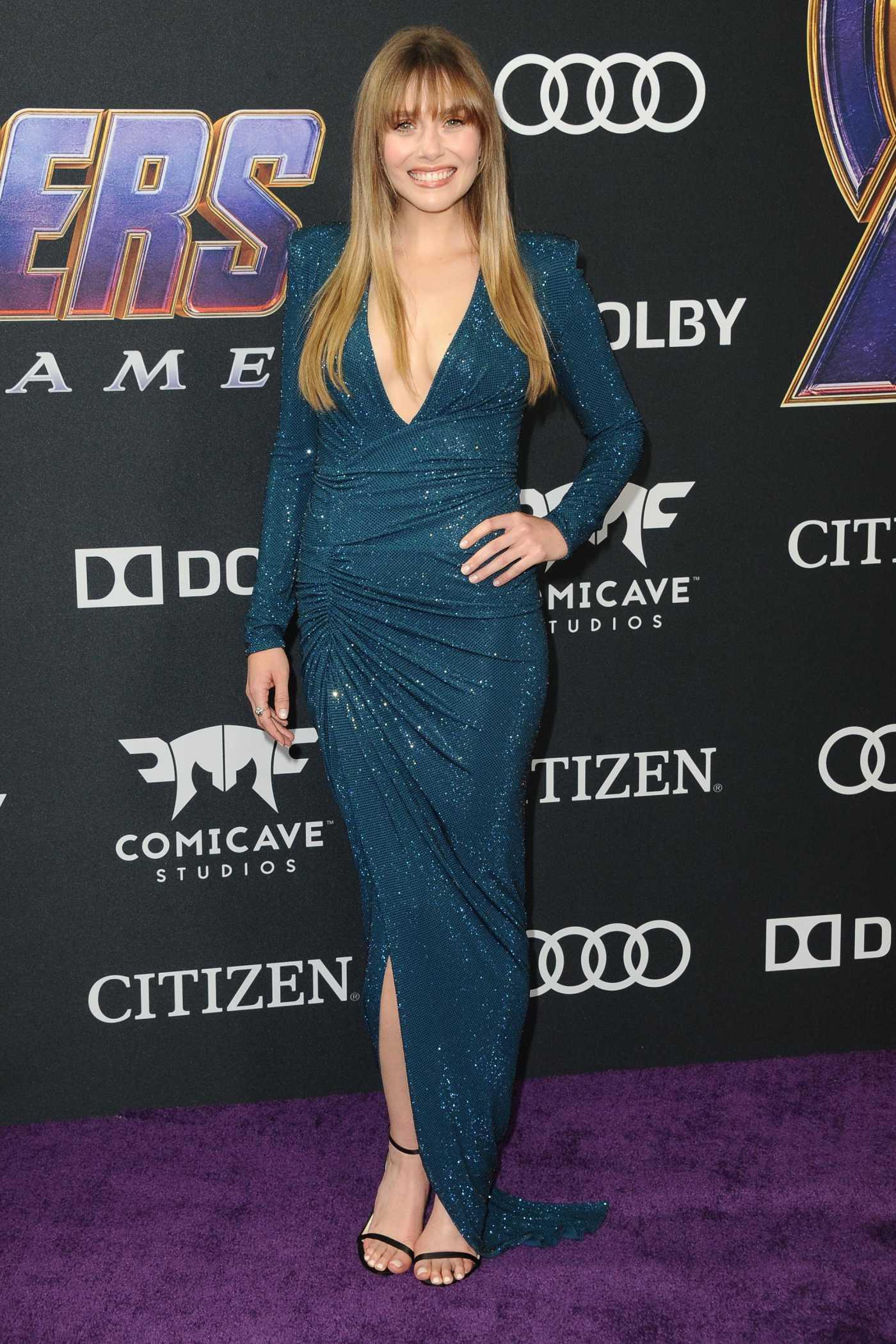 Elizabeth Olsen Attends Avengers: Endgame Premiere in Los Angeles 04/22/2019