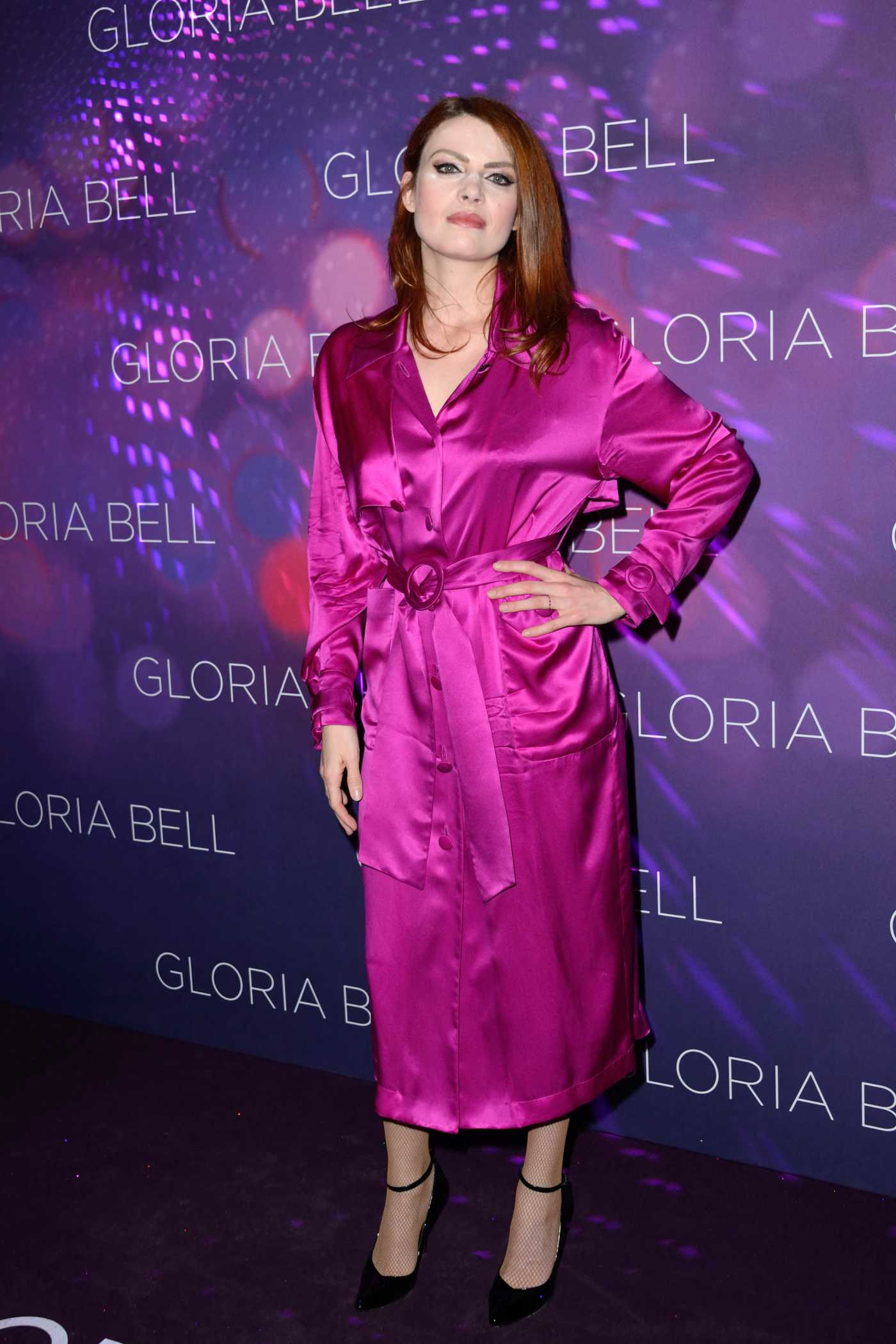 Elodie Frege Attends Gloria Bell Premiere in Paris 04/15/2019