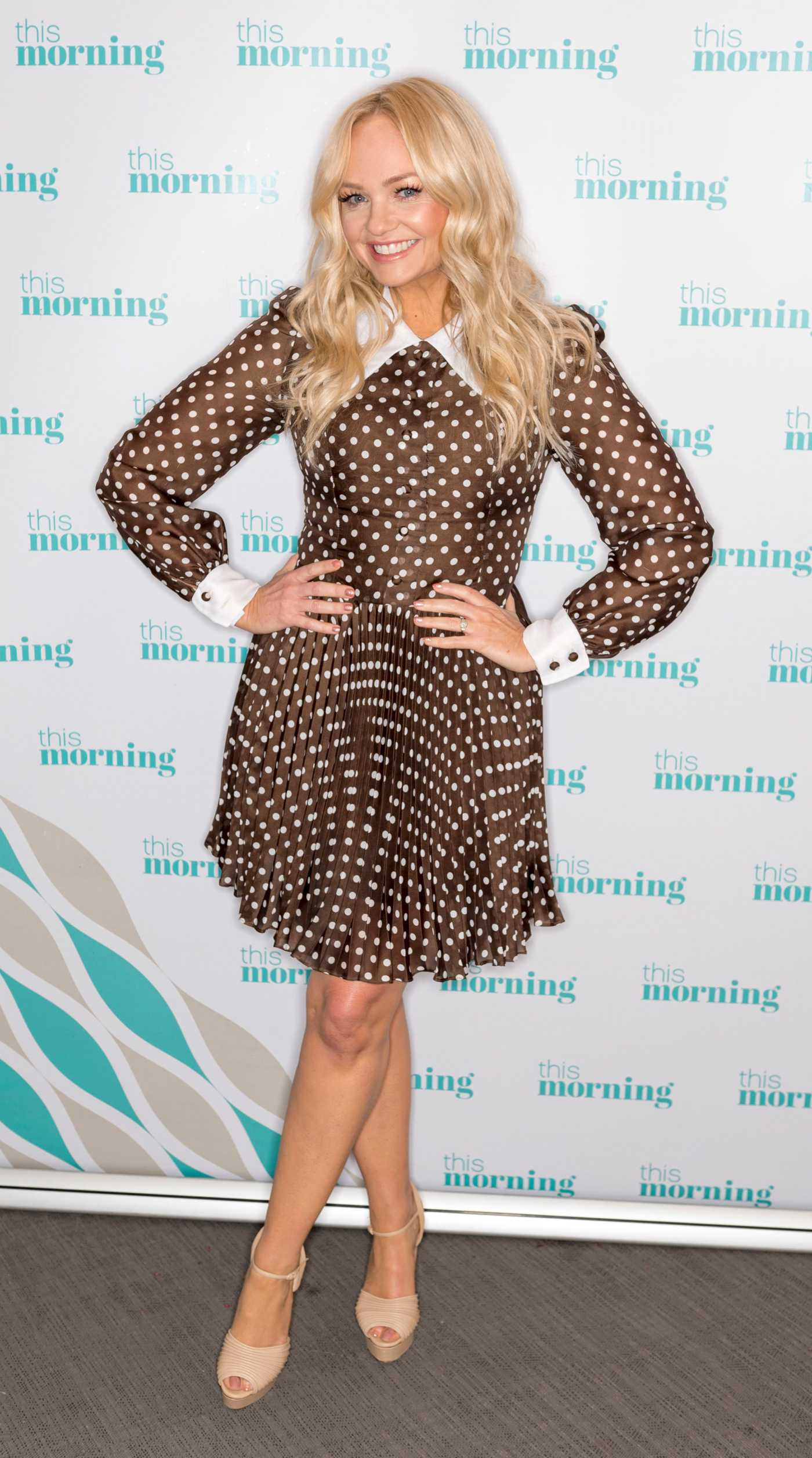 Emma Bunton Attends On This Morning TV Show in London 04/16/2019
