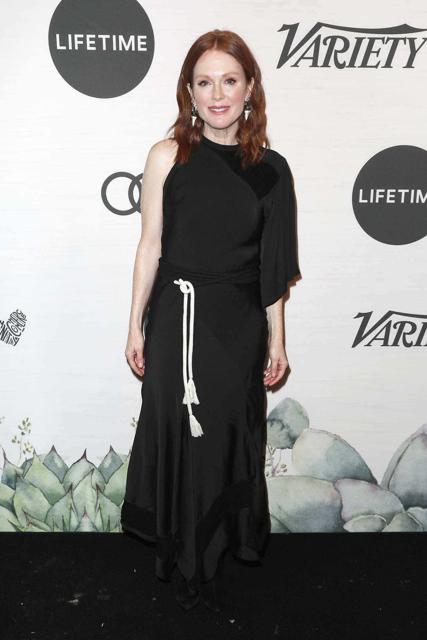 Julianne Moore Attends 2019 Variety's Power of Women in New York 04/05/2019