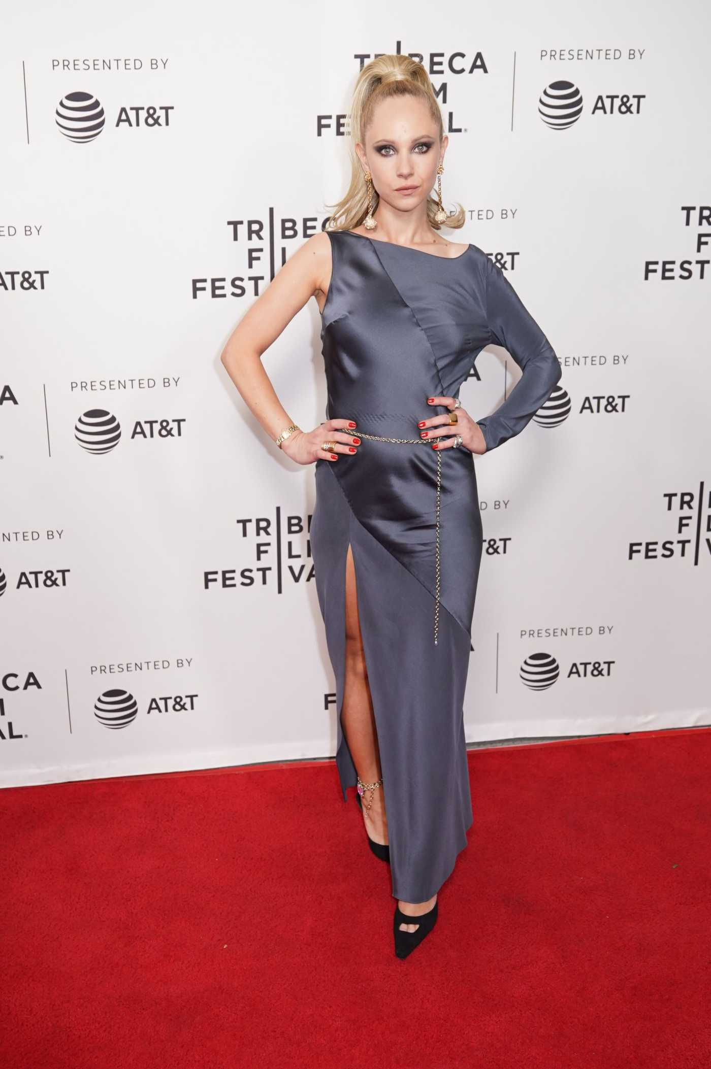 Juno Temple Attends the Lost Transmissions Premiere at Tribeca Film Festival in NYC 04/28/2019