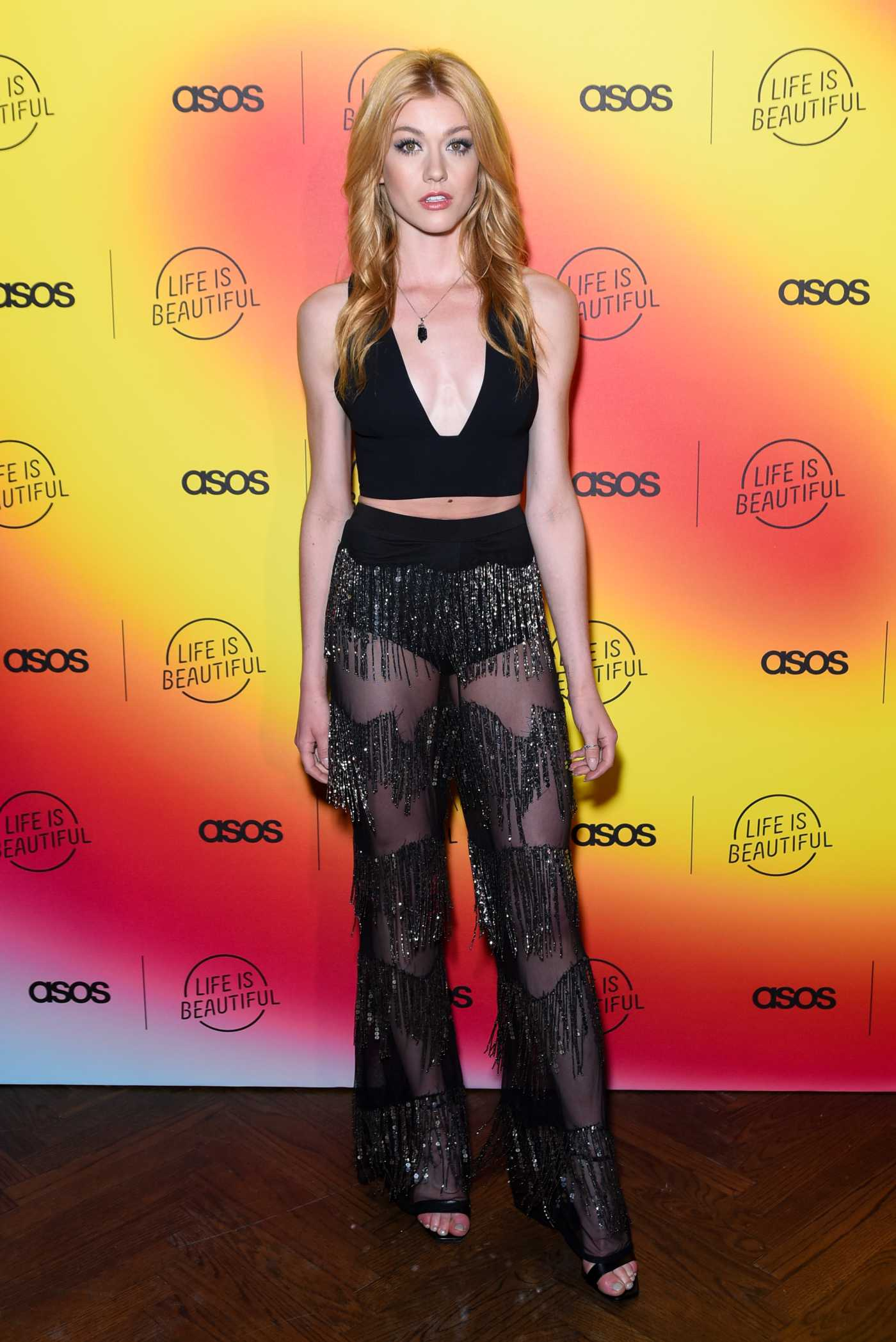 Katherine McNamara Attends ASOS Life is Beautiful Party in Los Angeles 04/25/2019