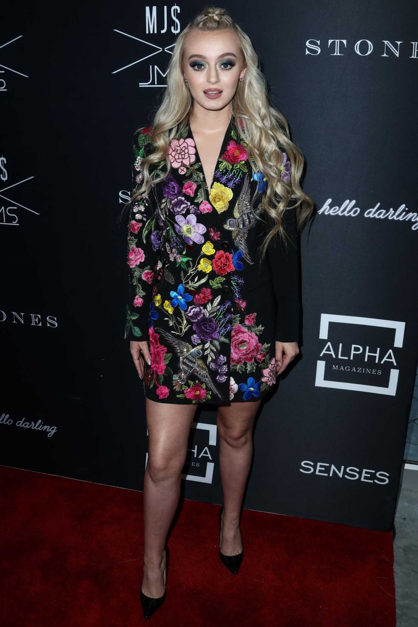 Savannah Kennick Attends the Matt Sarafa and Jonathan Marc Stein's Rich Fashion Show in LA 03/29/2019