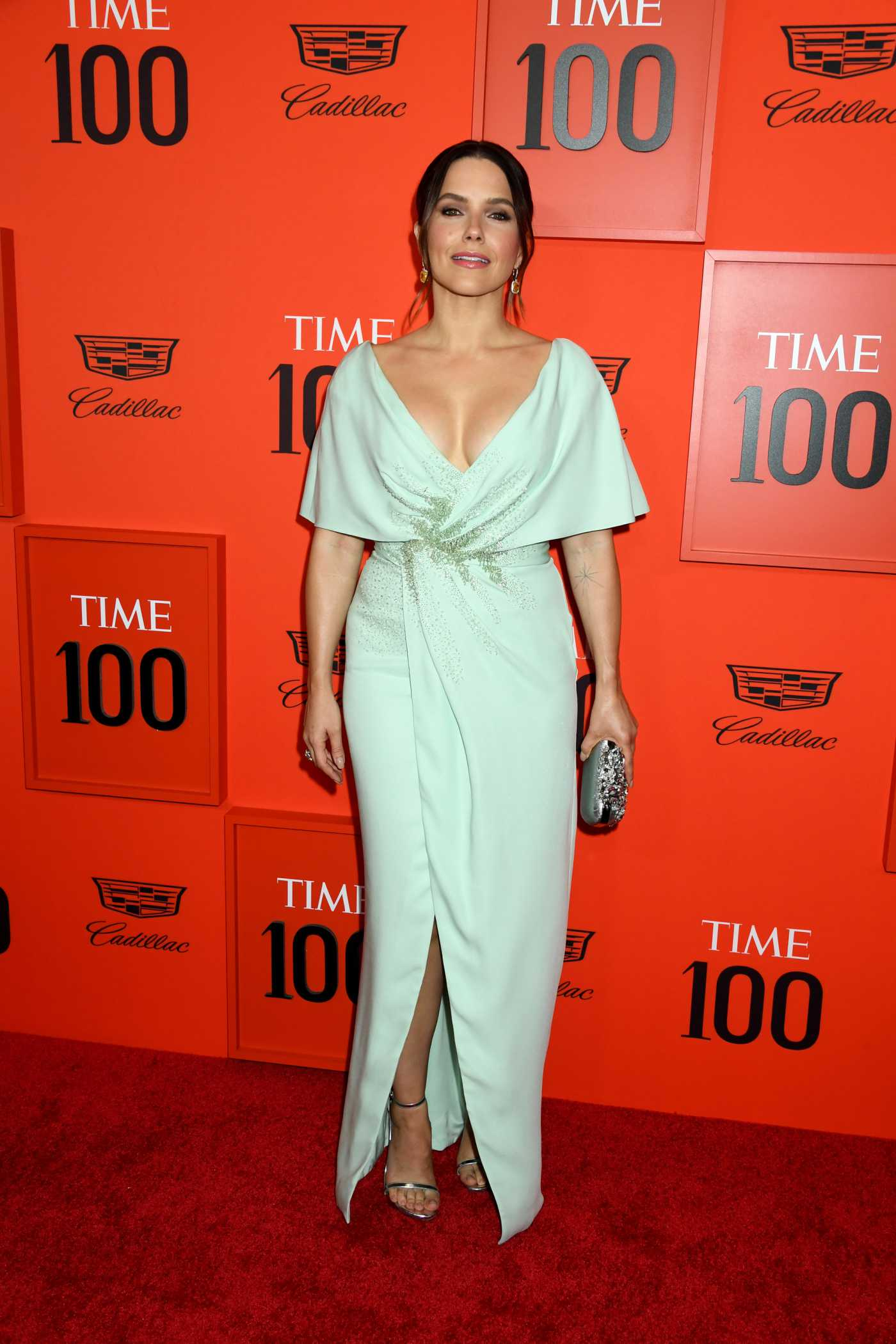 Sophia Bush Attends 2019 TIME 100 Gala at Lincoln Center in NY  04/23/2019