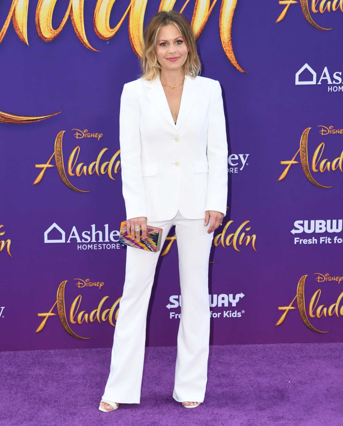 Candace Cameron Bure Attends Disney's Aladdin Premiere in Hollywood 05/21/2019