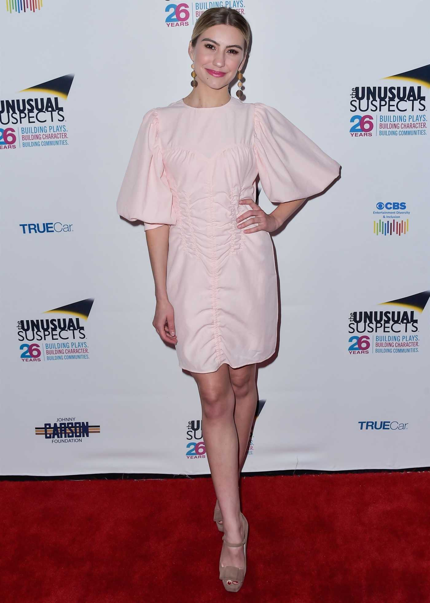Chelsea Kane Attends the Unusual Suspects Theatre Company's 11th Annual Gala in Hollywood 05/07/2019