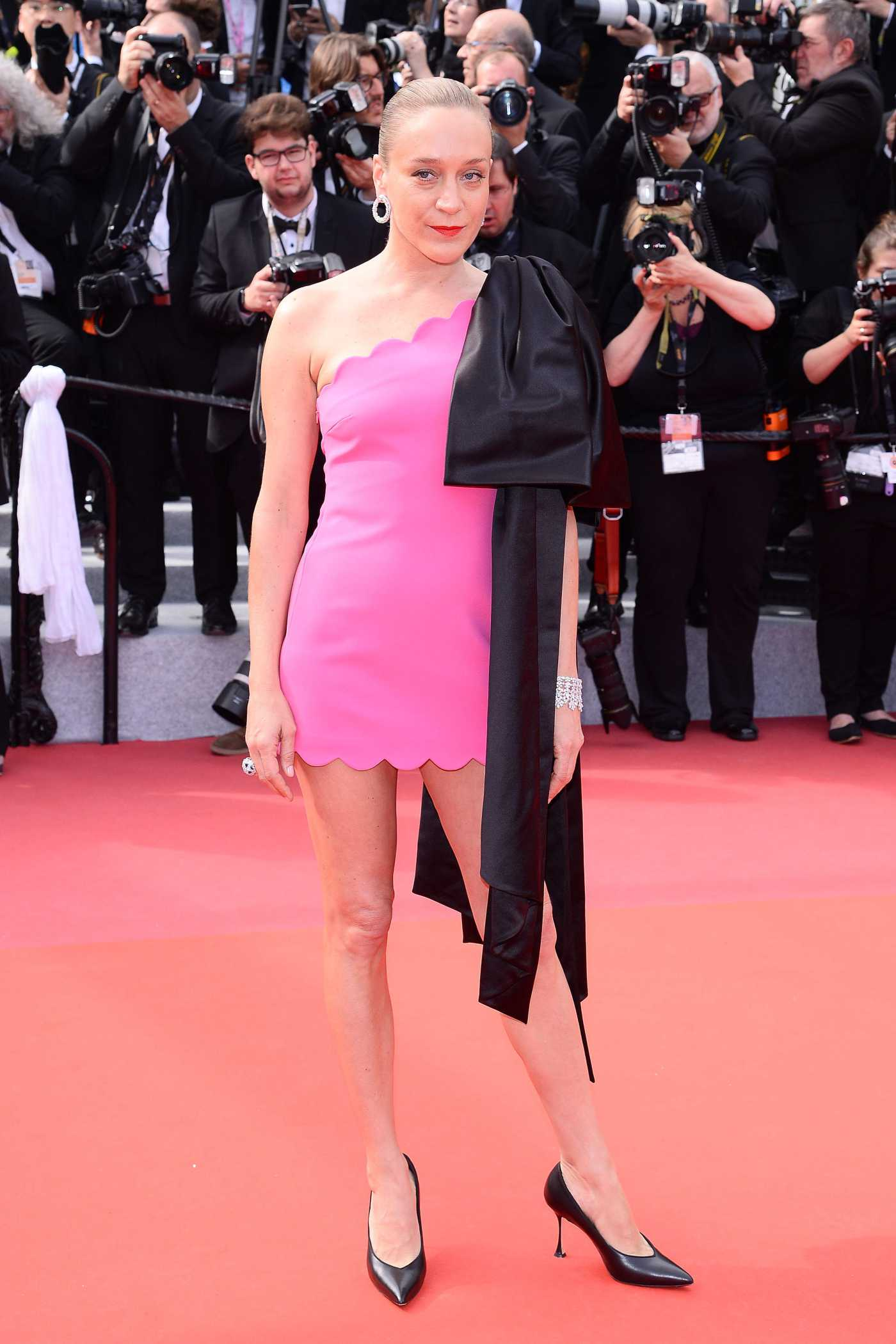 Chloe Sevigny Attends the Once Upon a Time in Hollywood  Screening During the 72nd Annual Cannes Film Festival in Cannes 05/21/2019