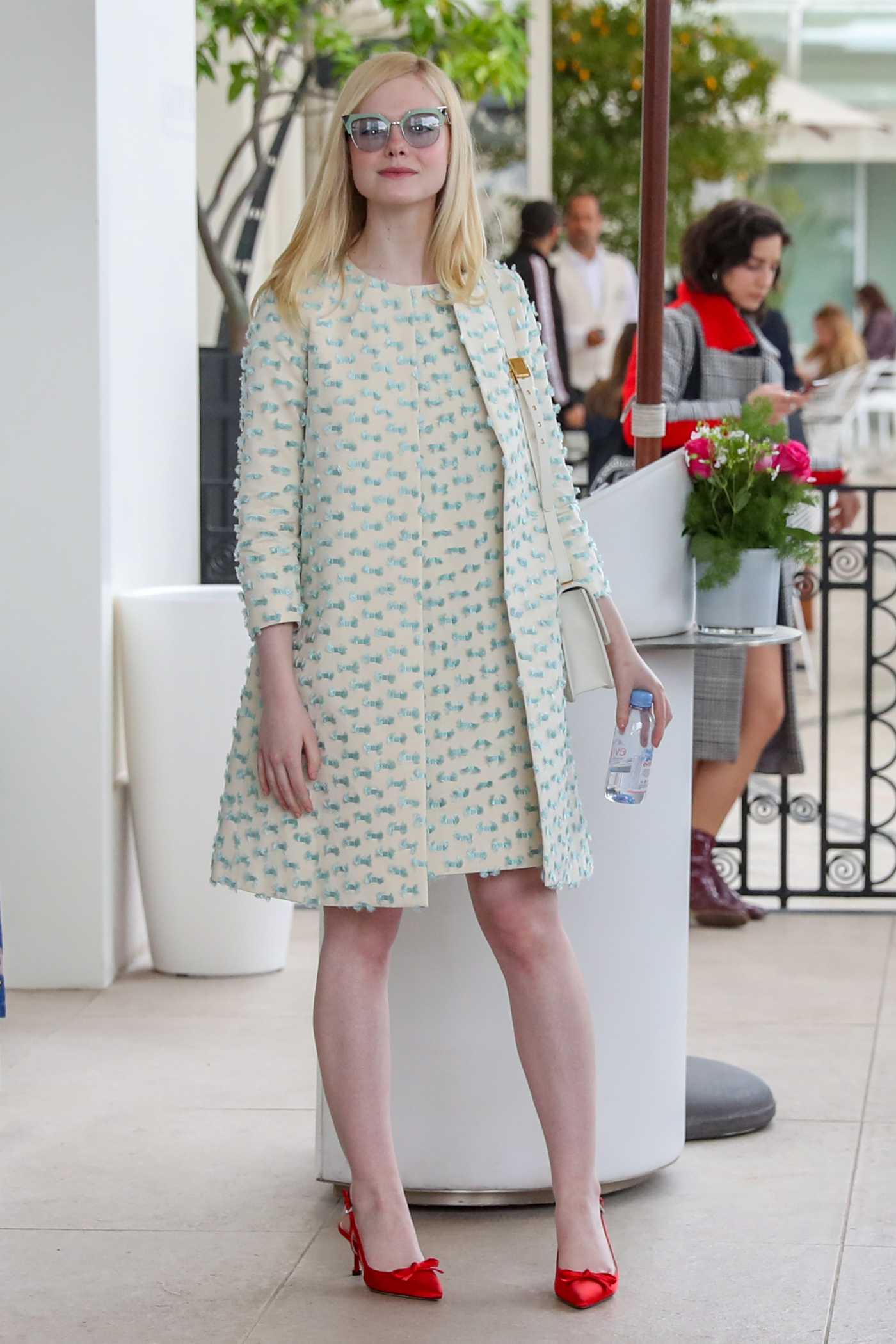 Elle Fanning Arrives at the Martinez Hotel During the 72nd Annual Cannes Film Festival in Cannes 05/21/2019