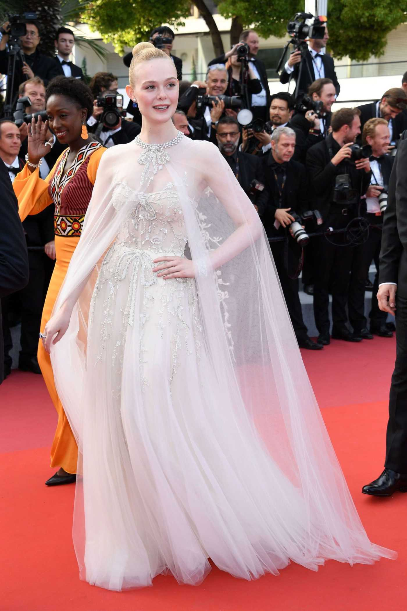Elle Fanning Attends The Specials Screening During the 72nd Annual Cannes Film Festival in Cannes 05/25/2019