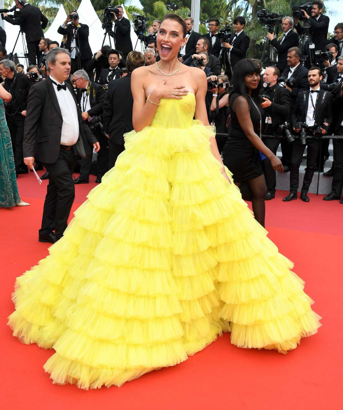Fernanda Liz Attends Oh Mercy! Screening During the 72nd Annual Cannes Film Festival in Cannes 05/22/2019