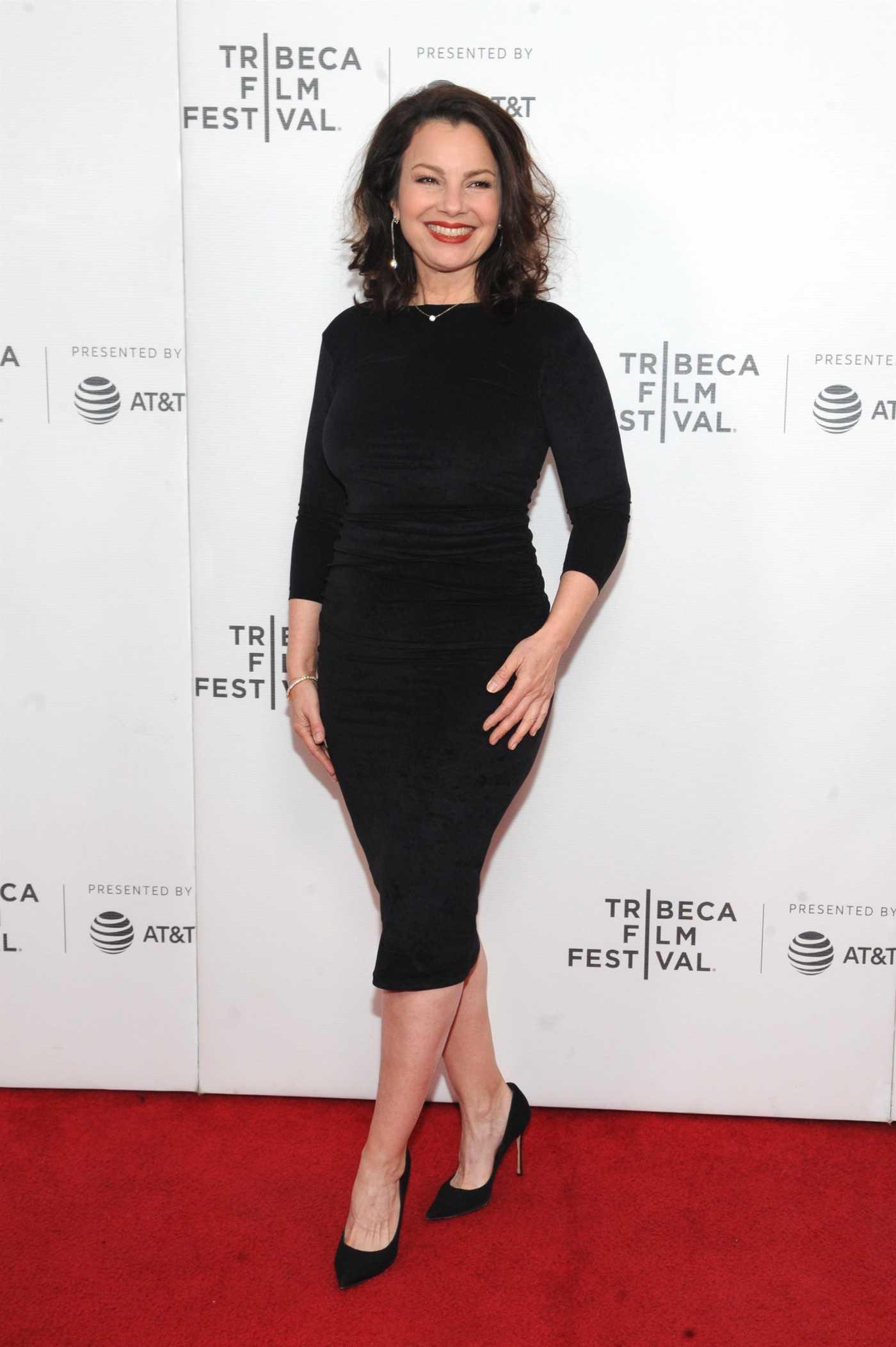 Fran Drescher Attends Safe Spaces Premiere During 2019 Tribeca Film Festiva in New York 04/29/2019