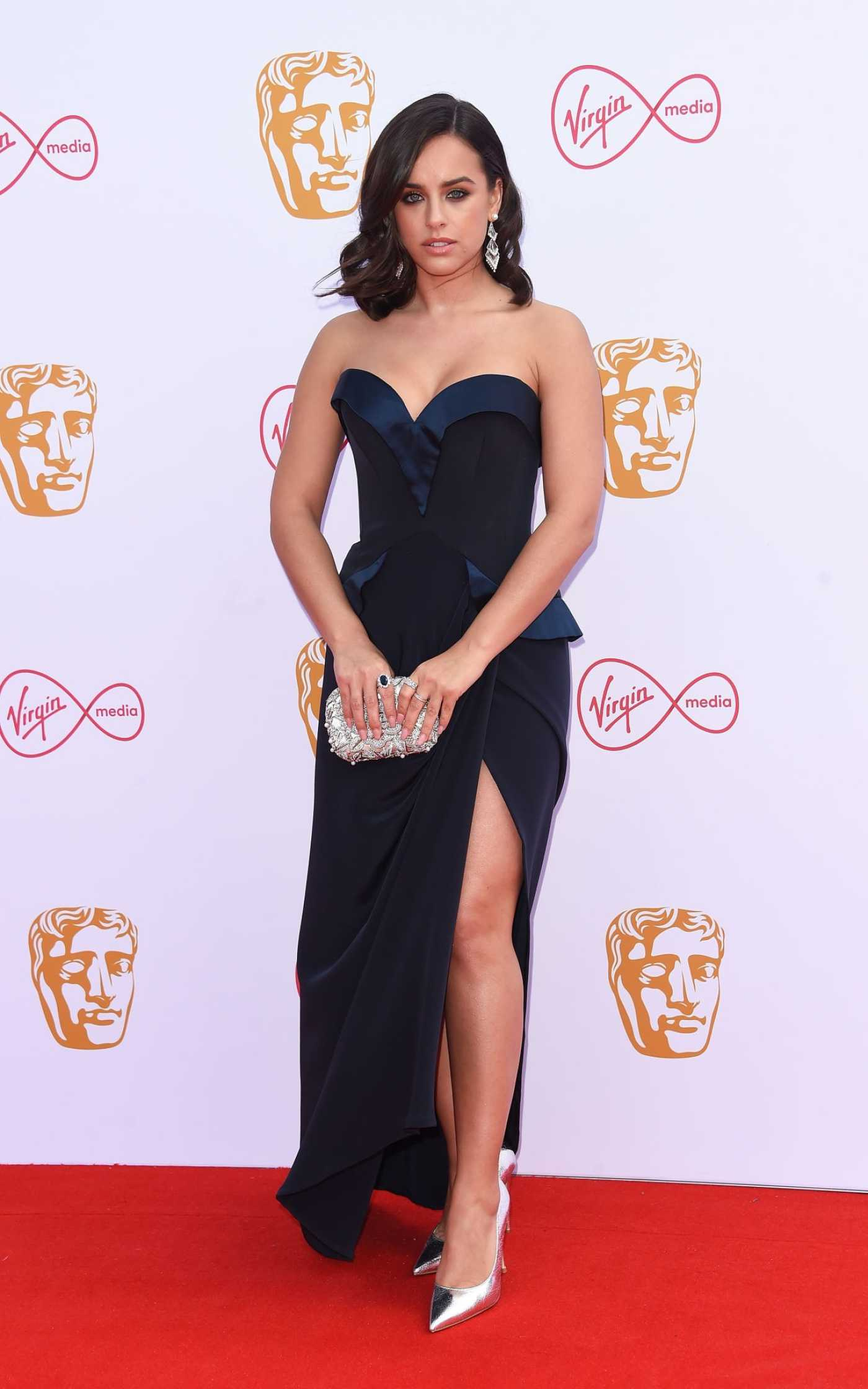 Georgia May Foote Attends British Academy Television Awards at Royal Festival Hall in London 05/12/2019