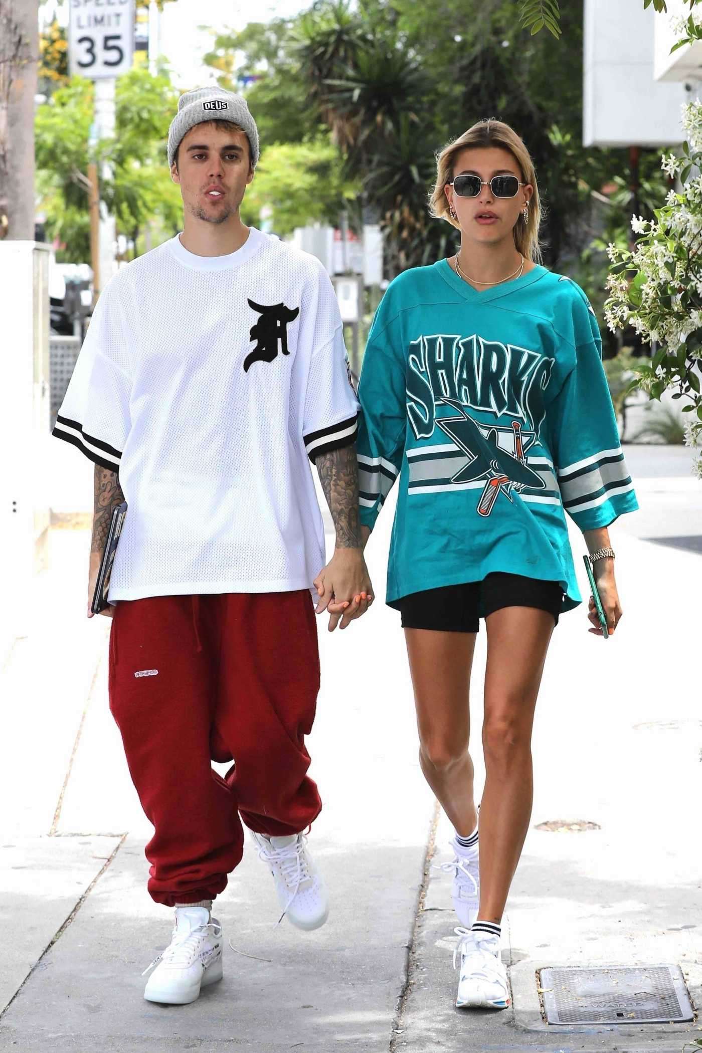 Hailey Baldwin Was Seen Out with Justin Bieber in West Hollywood 05/18/2019