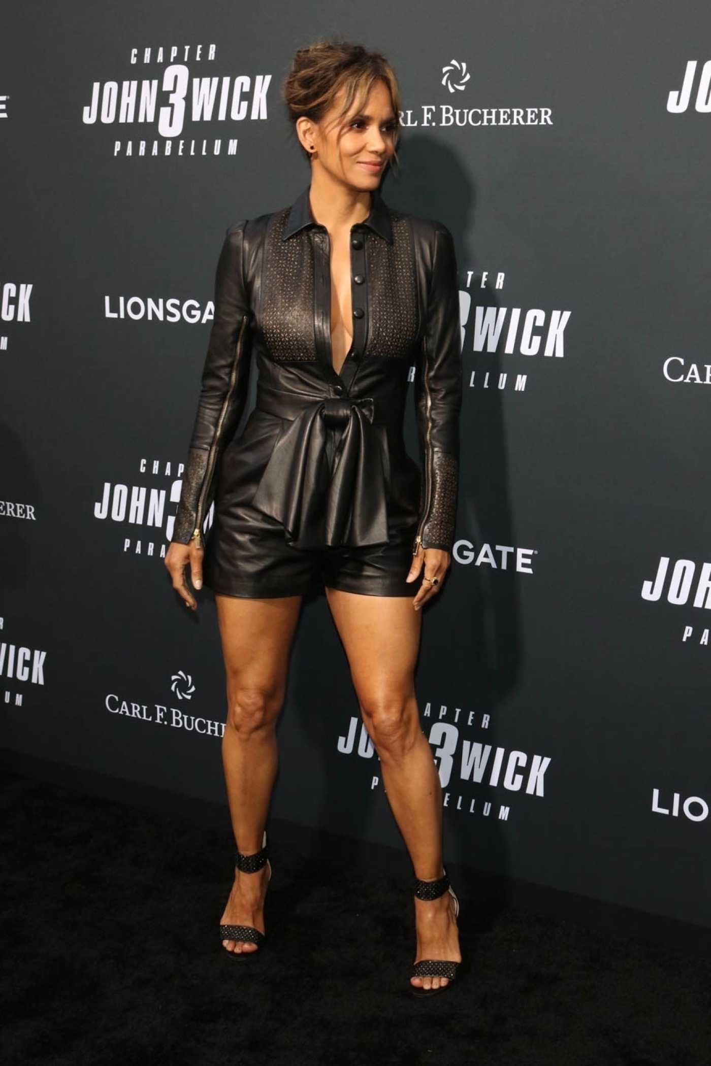 Halle Berry Attends the John Wick: Chapter 3 - Parabellum Premiere at TCL Chinese Theatre in Hollywood 05/15/2019