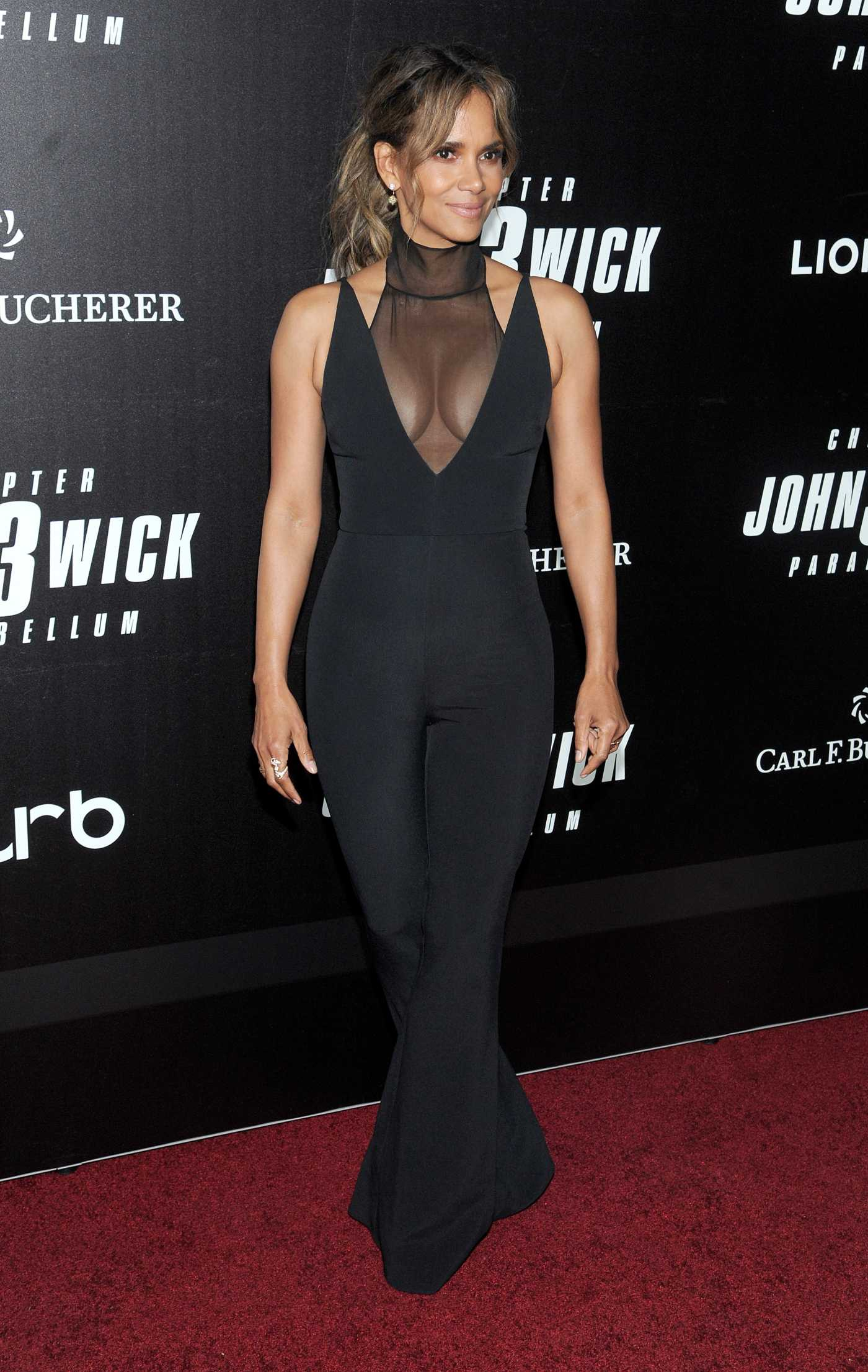 Halle Berry Attends the John Wick: Chapter 3 World Premiere in NYC 05/09/2019