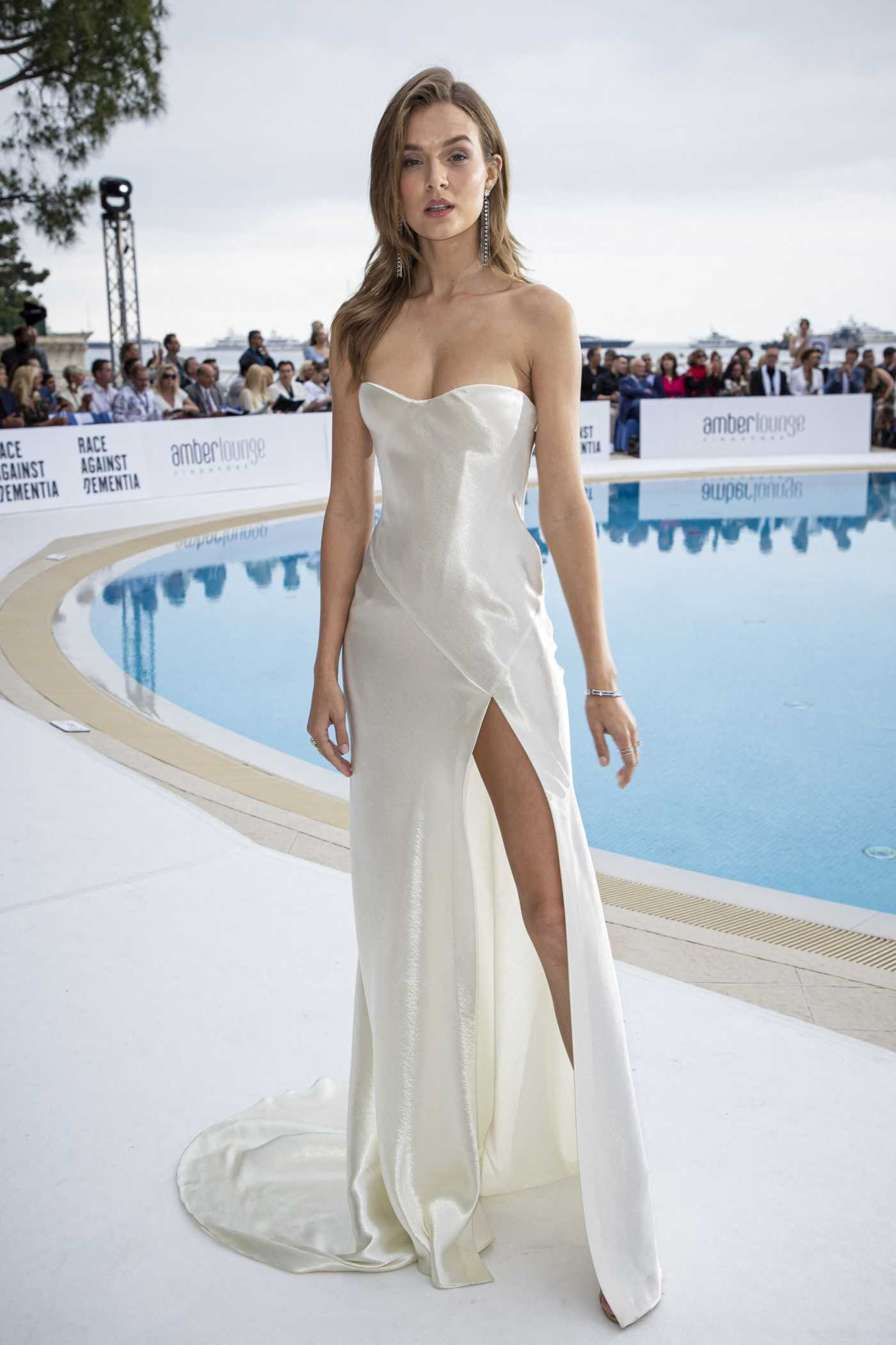 Josephine Skriver Attends the Amber Lounge Fashion Show in Monte-Carlo 05/24/2019
