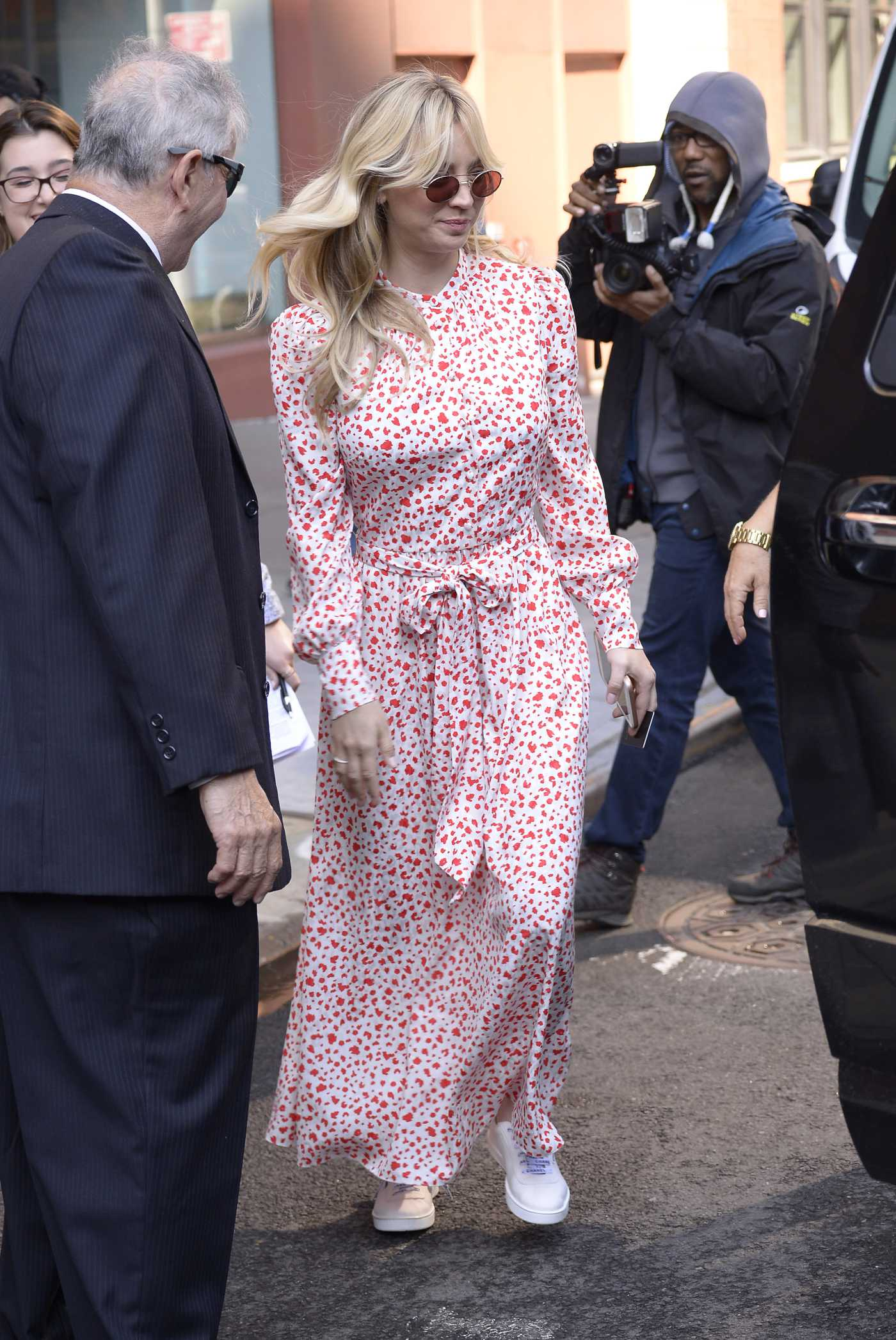 Kaley Cuoco in a Long Dress Was Seen Out in NYC 05/16/2019