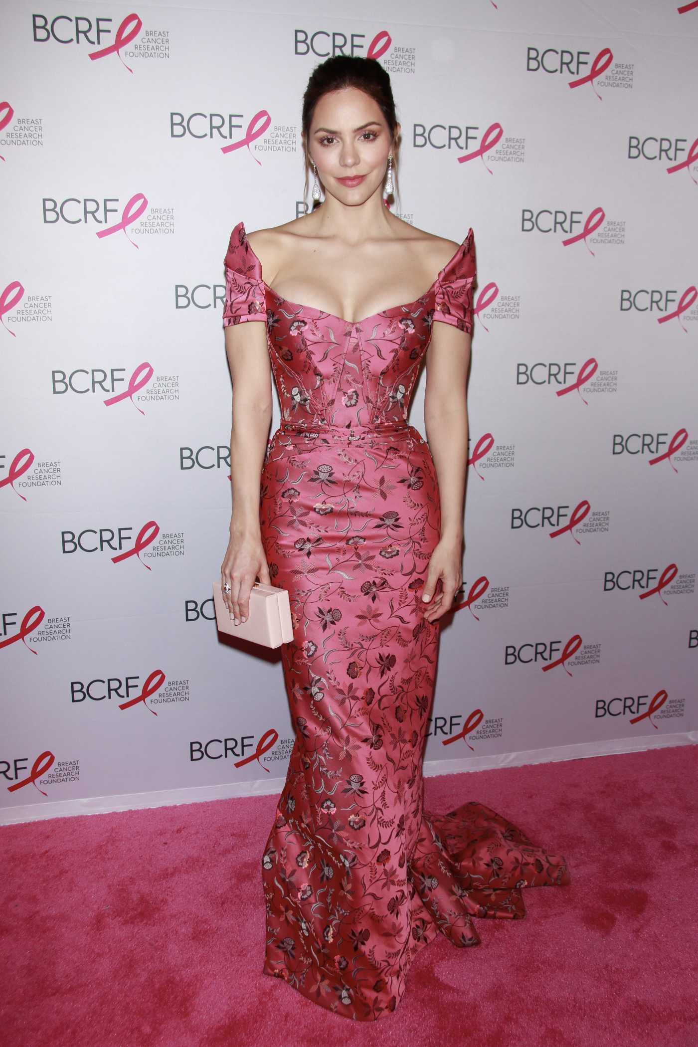 Katharine McPhee Attends Breast Cancer Research Foundation Hot Pink Party in New York 05/15/2019