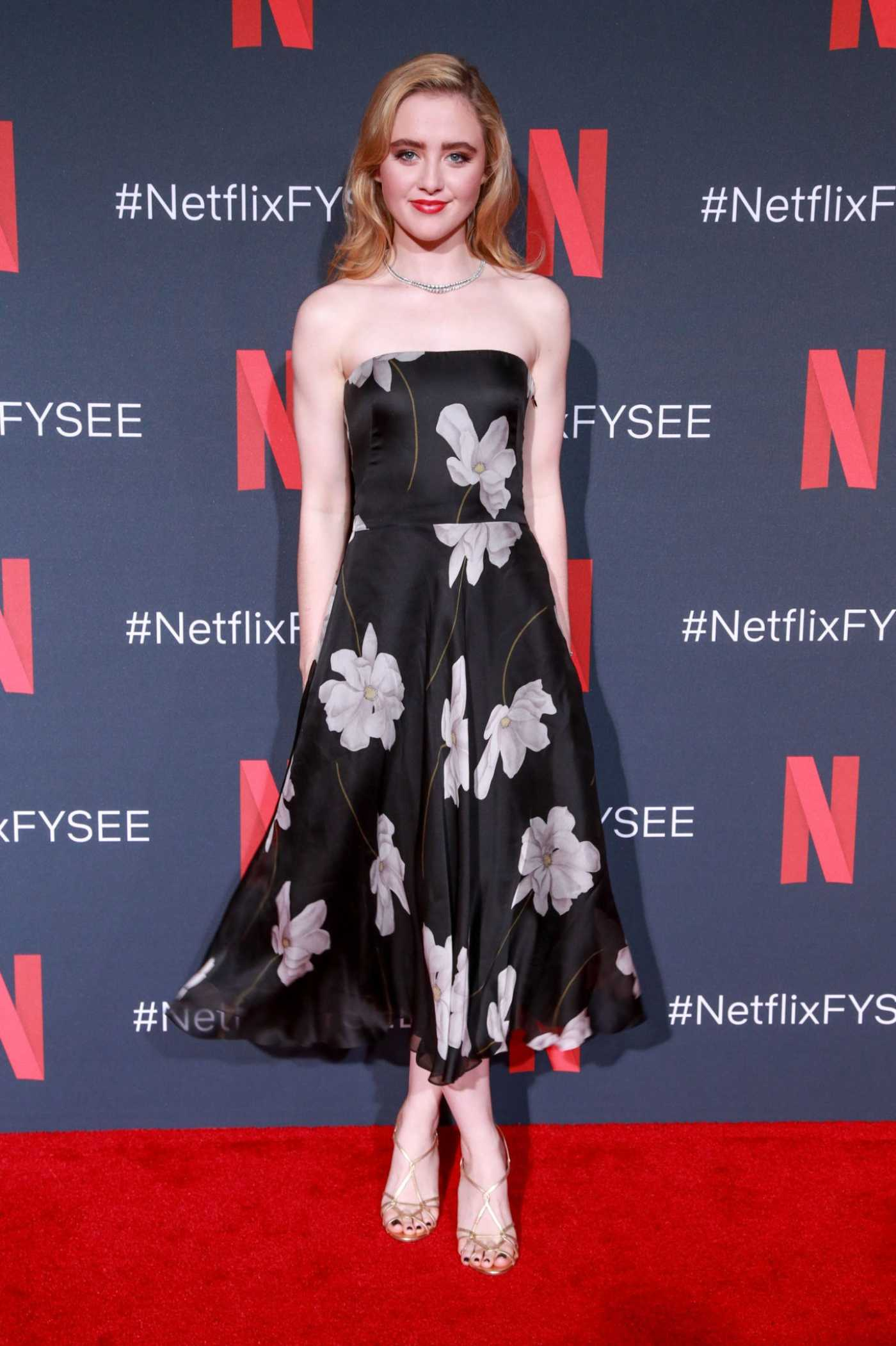 Kathryn Newton Attends Netflix FYC Event: Prom Night Photocall in Los Angeles 05/17/2019