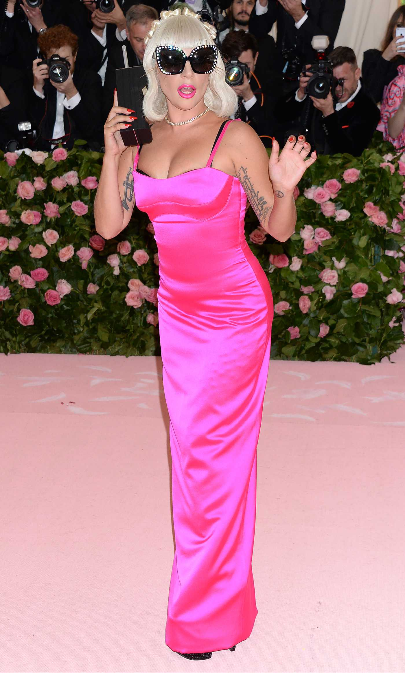 Lady Gaga Attends the 2019 Met Gala Celebrating Camp: Notes on Fashion in NYC 05/06/2019