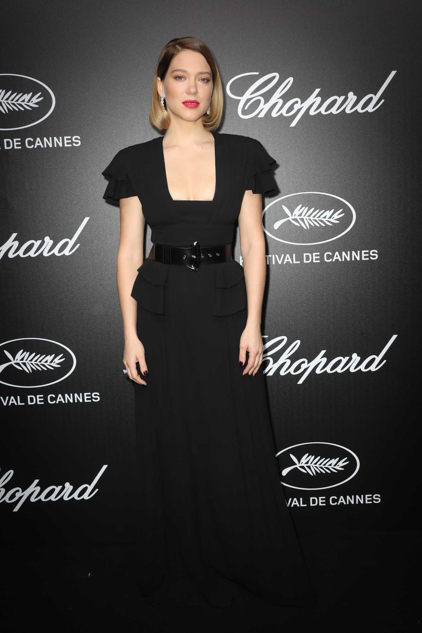 Lea Seydoux Attends the Chopard Trophy Event During the 72nd Annual Cannes Film Festival in Cannes 05/20/2019