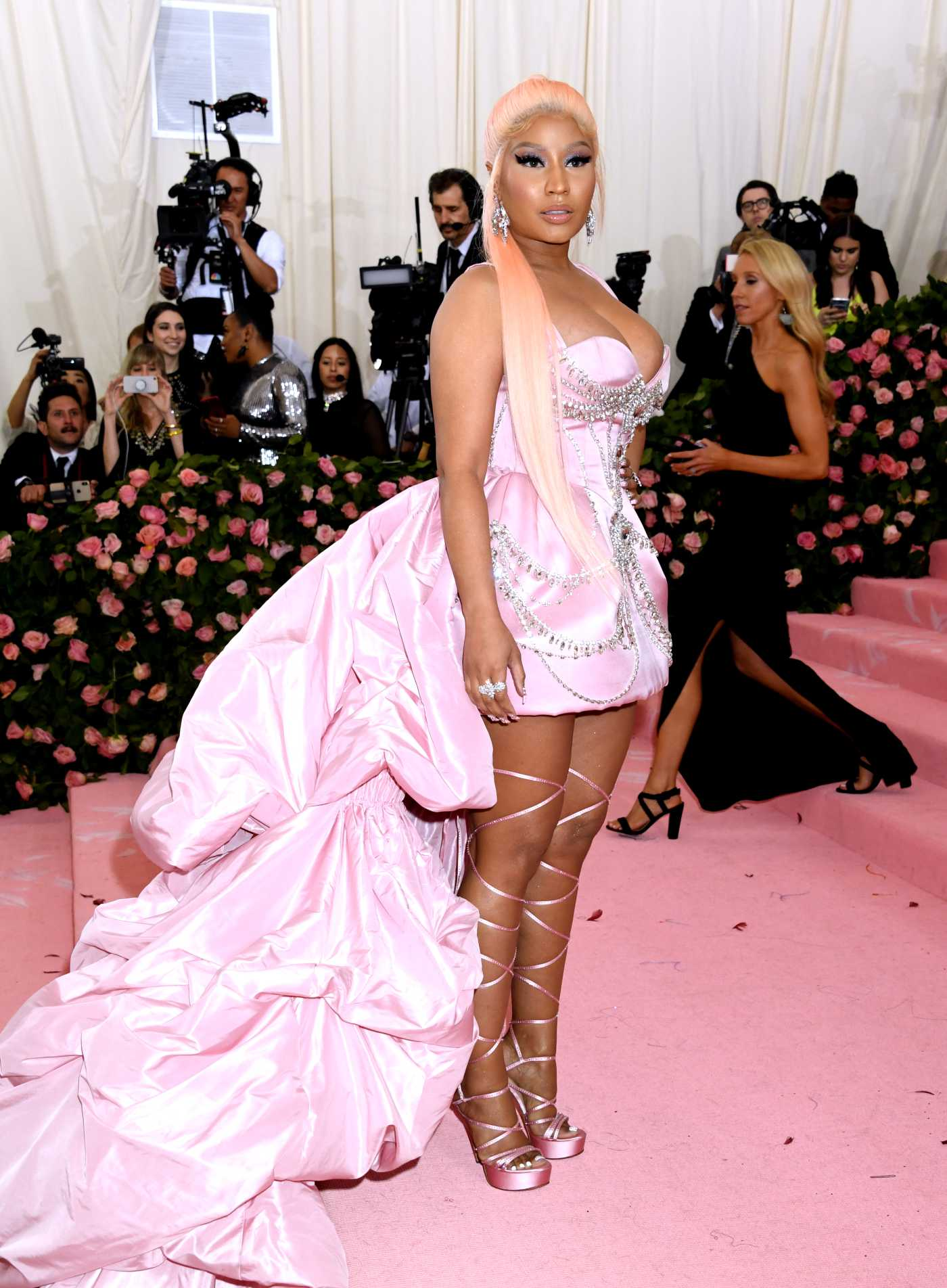 Nicki Minaj Attends the 2019 Met Gala Celebrating Camp: Notes on Fashion in NYC 05/06/2019