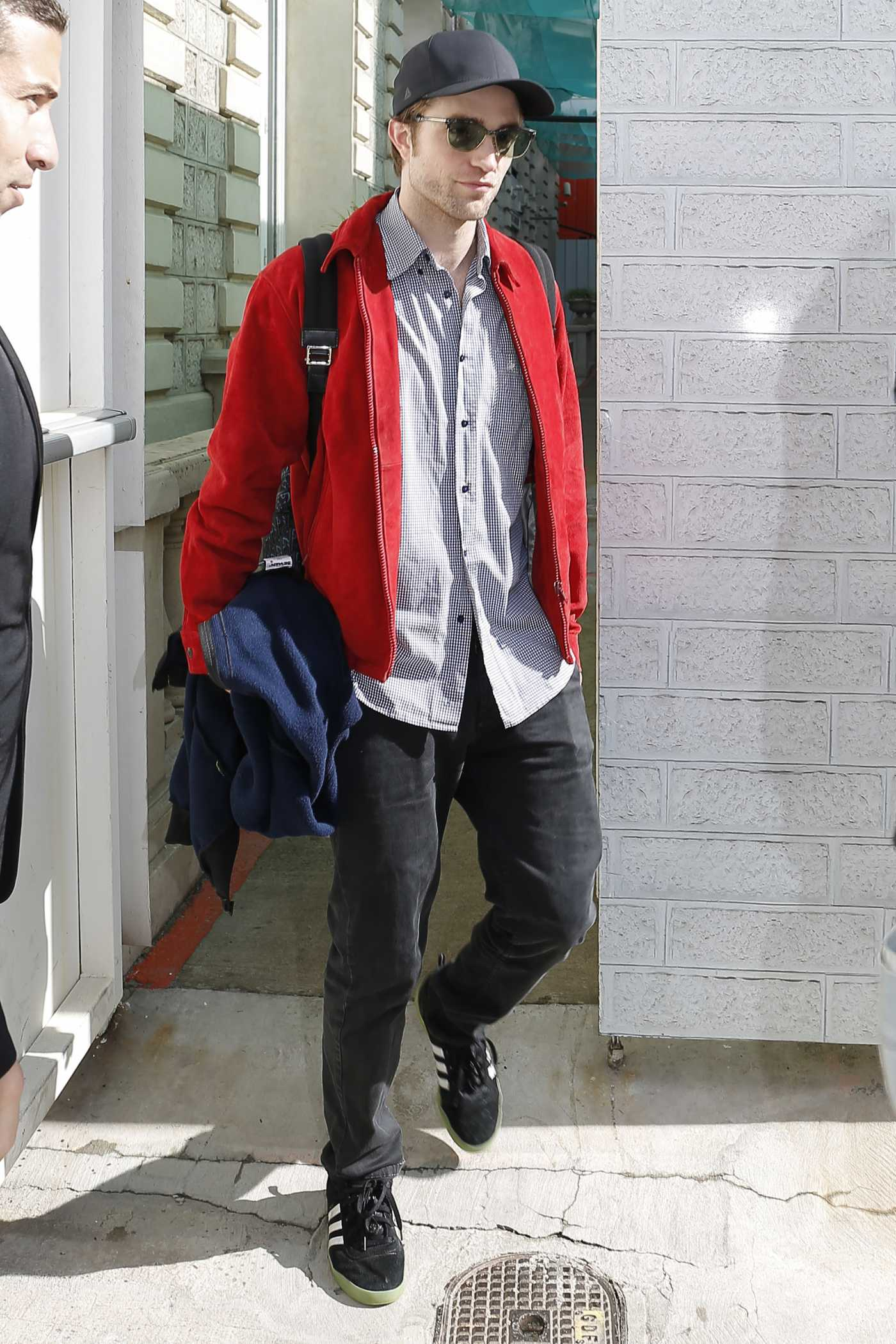 Robert Pattinson in a Red Jacket Was Seen Out in Cannes 05/20/2019