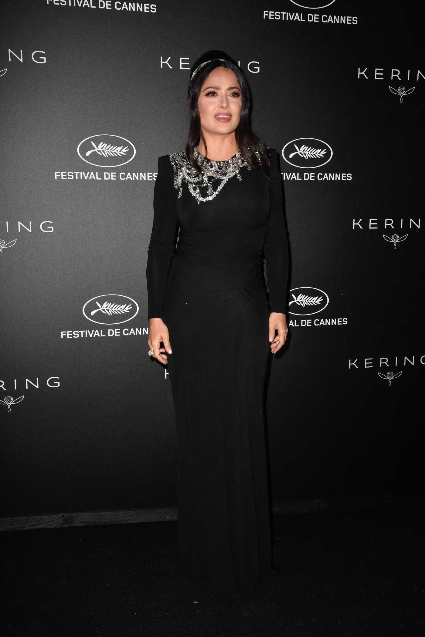 Salma Hayek Attends the Kering Women in Motion Awards During the 72nd Annual Cannes Film Festival in Cannes 05/19/2019