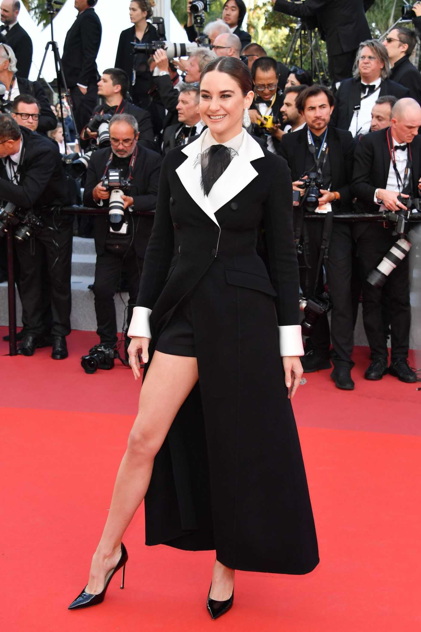Shailene Woodley Attends the Rocketman Premiere During the 72nd Cannes Film Festival in Cannes 05/16/2019