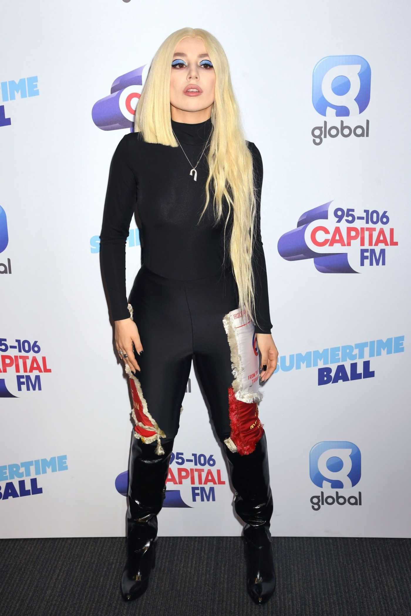 Ava Max Attends 2019 Capital FM Summertime Ball in London 06/08/2019