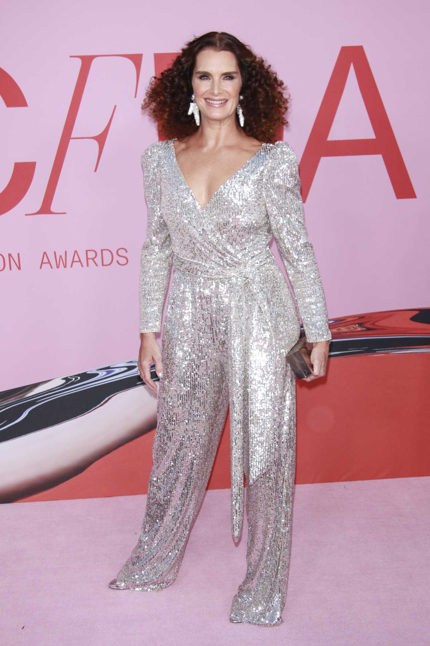 Brooke Shields Attends the CFDA Fashion Awards in New York 06/03/2019