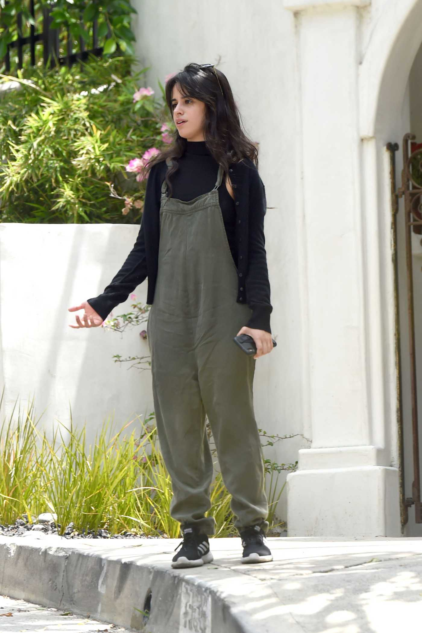Camila Cabello in a Green Jumpsuit Was Seen Out in LA 06/07/2019