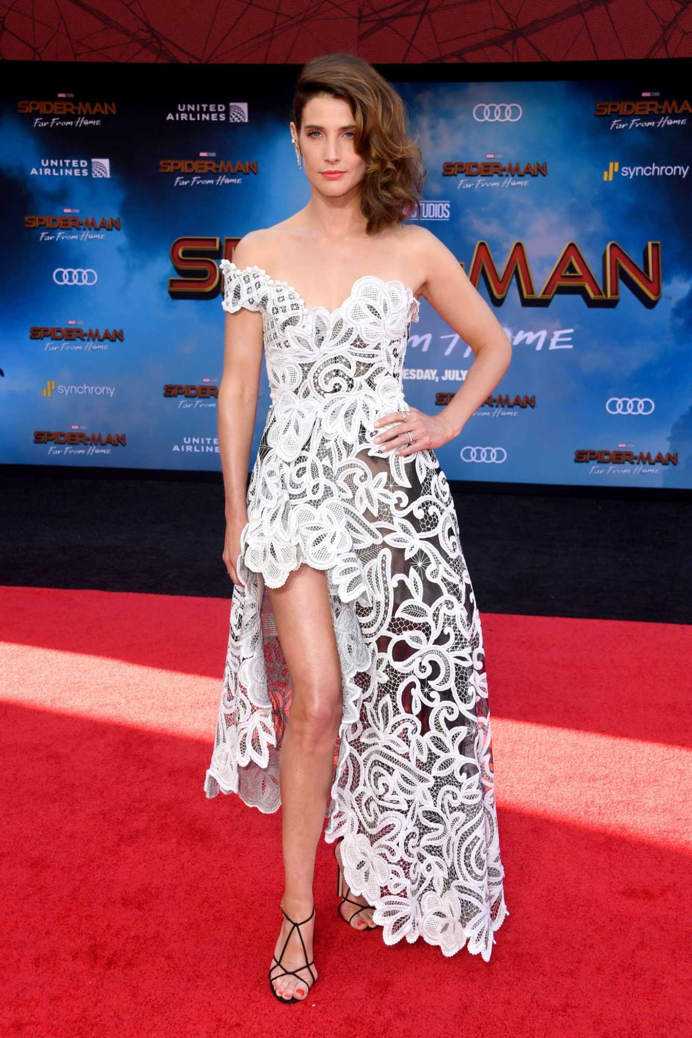Cobie Smulders Attends the Spider-Man Far From Home Premiere at TCL Chinese Theatre in Hollywood 06/26/2019