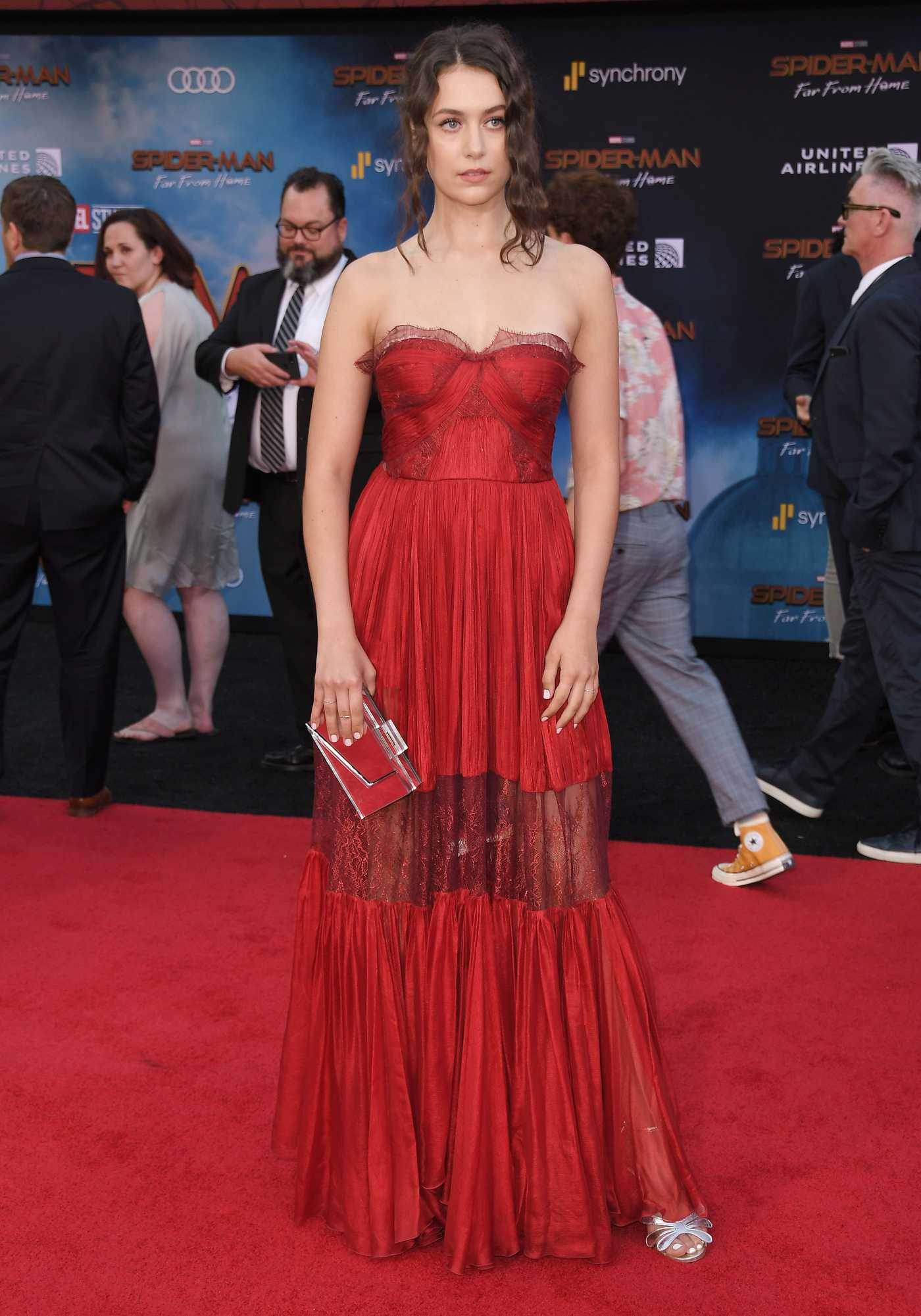 Emma Fuhrmann Attends the Spider-Man Far From Home Premiere at TCL Chinese Theatre in Hollywood 06/26/2019