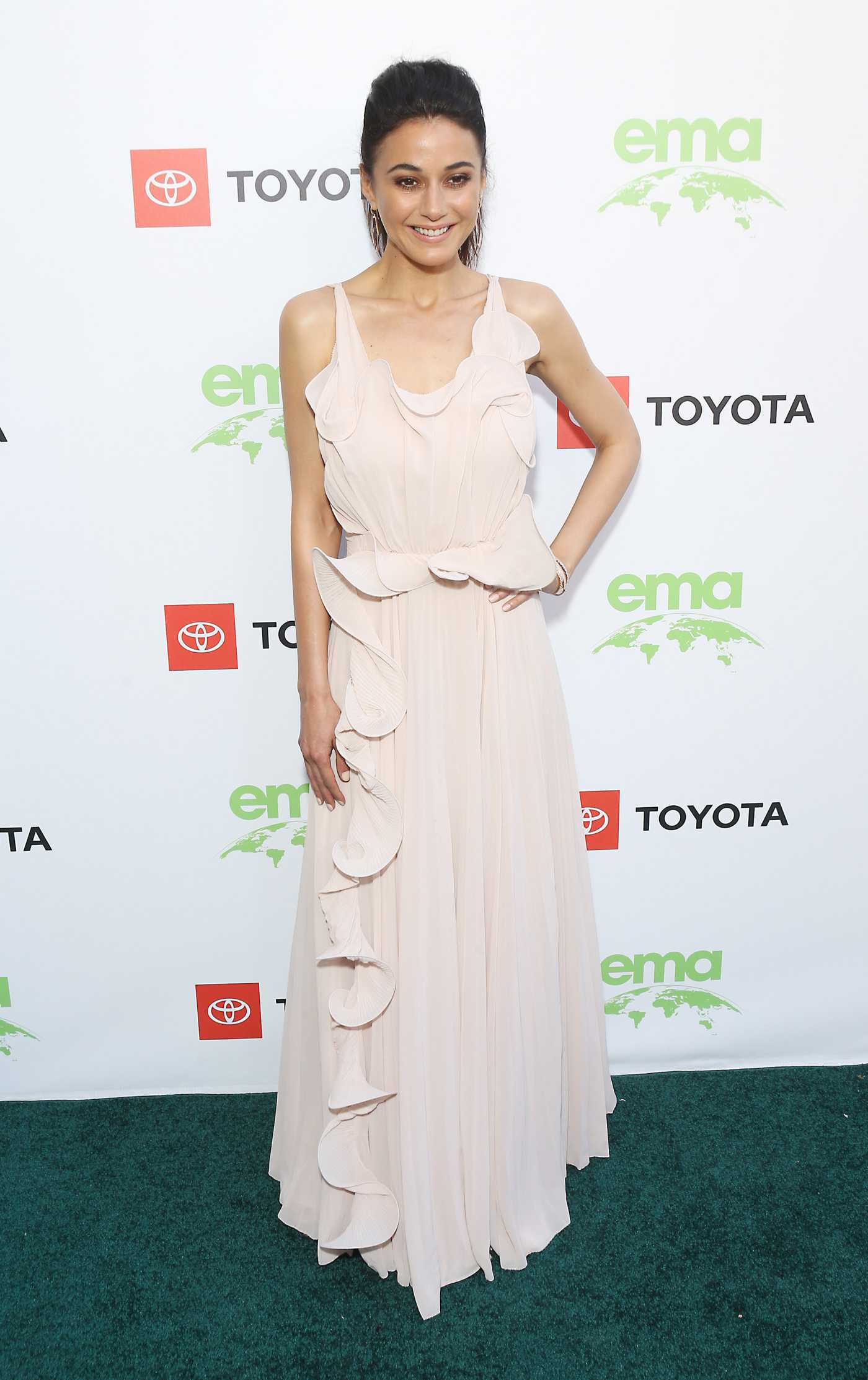 Emmanuelle Chriqui Attends the 29th Annual Environmental Media Awards in Beverly Hills 05/30/2019