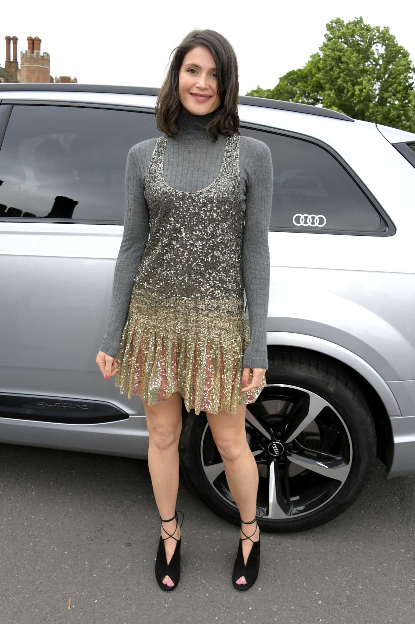 Gemma Arterton Attends the Audi Sentebale Concert at Hampton Court Palace in London 06/11/2019