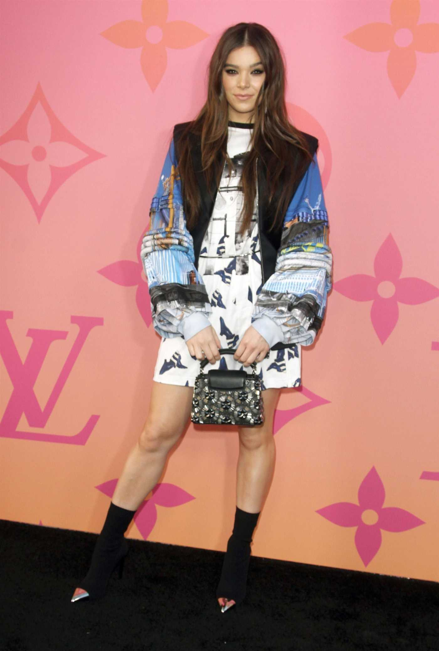 Hailee Steinfeld Attends the Louis Vuitton X Cocktail Party in Los Angeles 06/27/2019