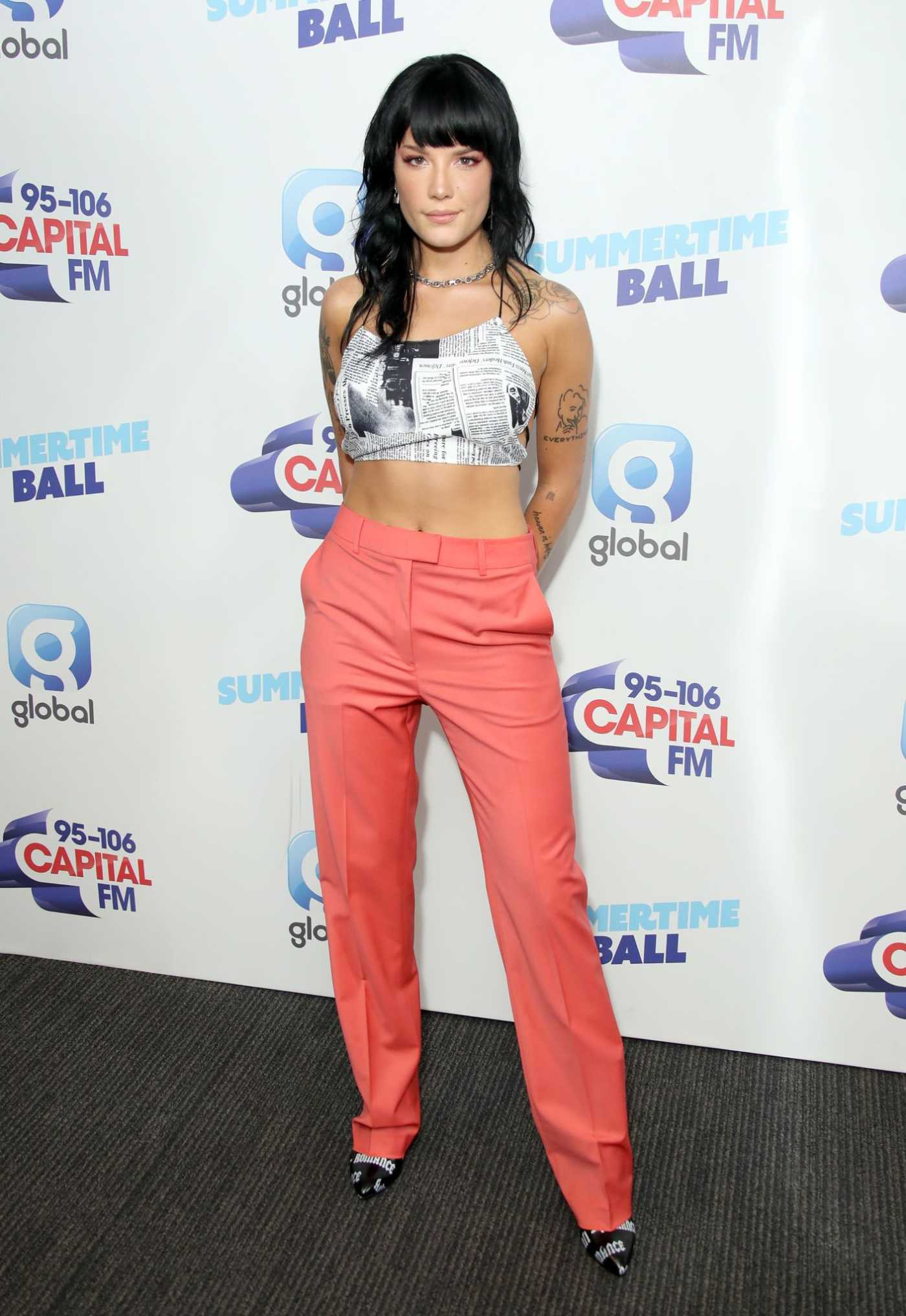 Halsey Attends 2019 Capital FM Summertime Ball in London 06/08/2019