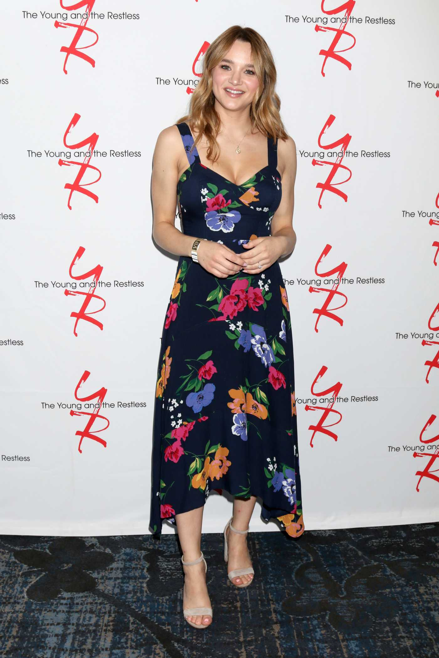 Hunter King Attends the Young and The Restless Fan Club Luncheon in Burbank 06/23/2019