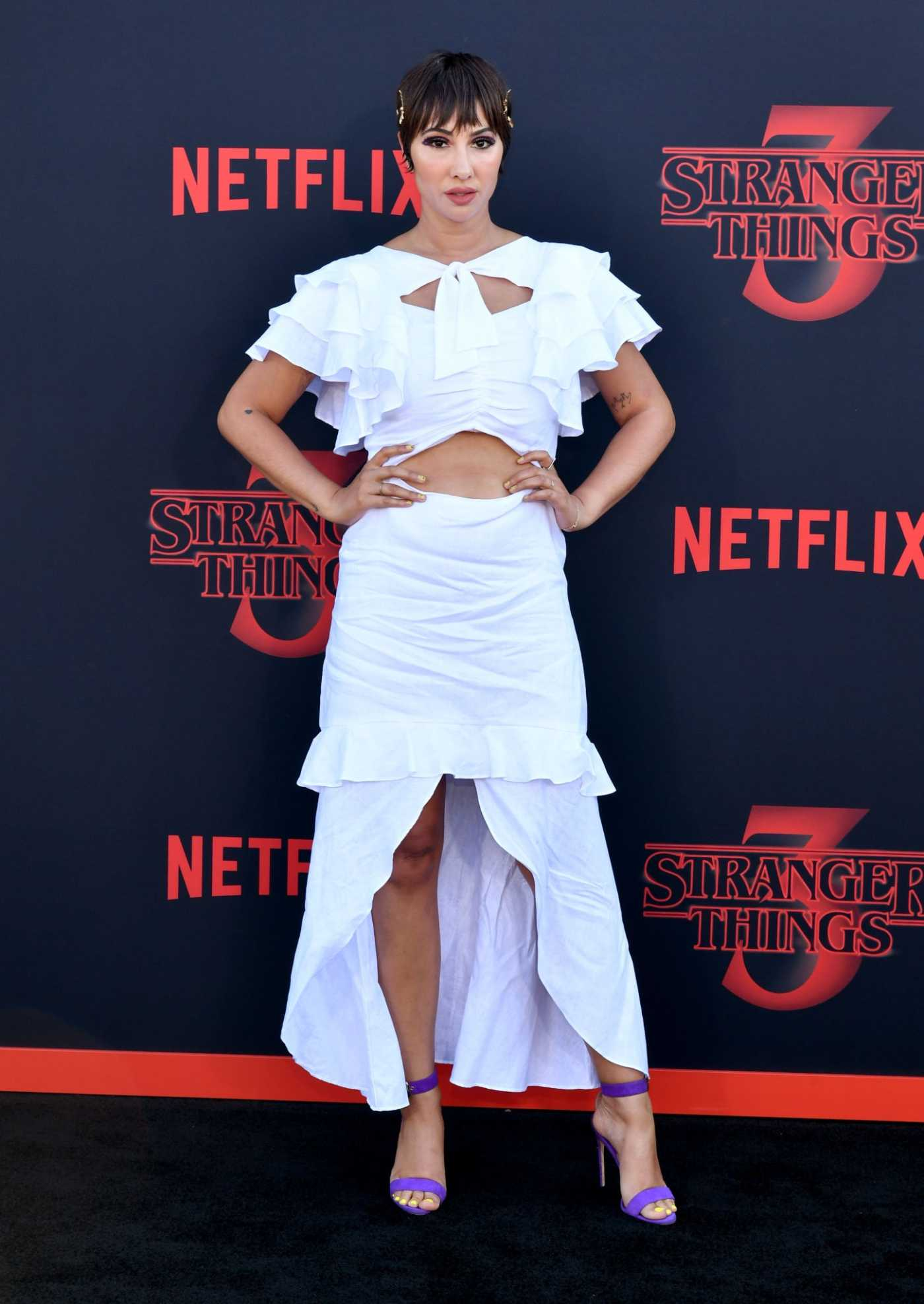 Jackie Cruz Attends the Stranger Things Season 3 Premiere in Santa Monica 06/28/2019