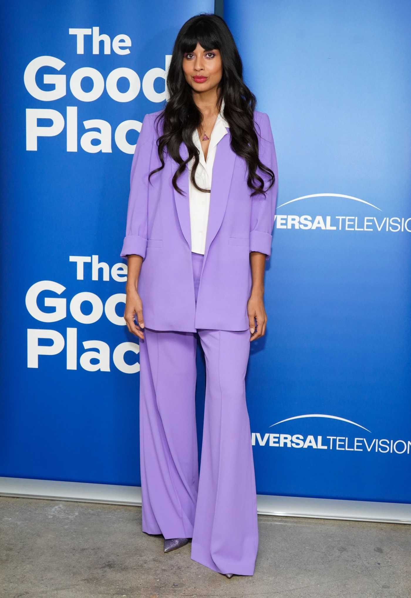 Jameela Jamil Attends The Good Place FYC Event in Los Angeles 06/17/2019