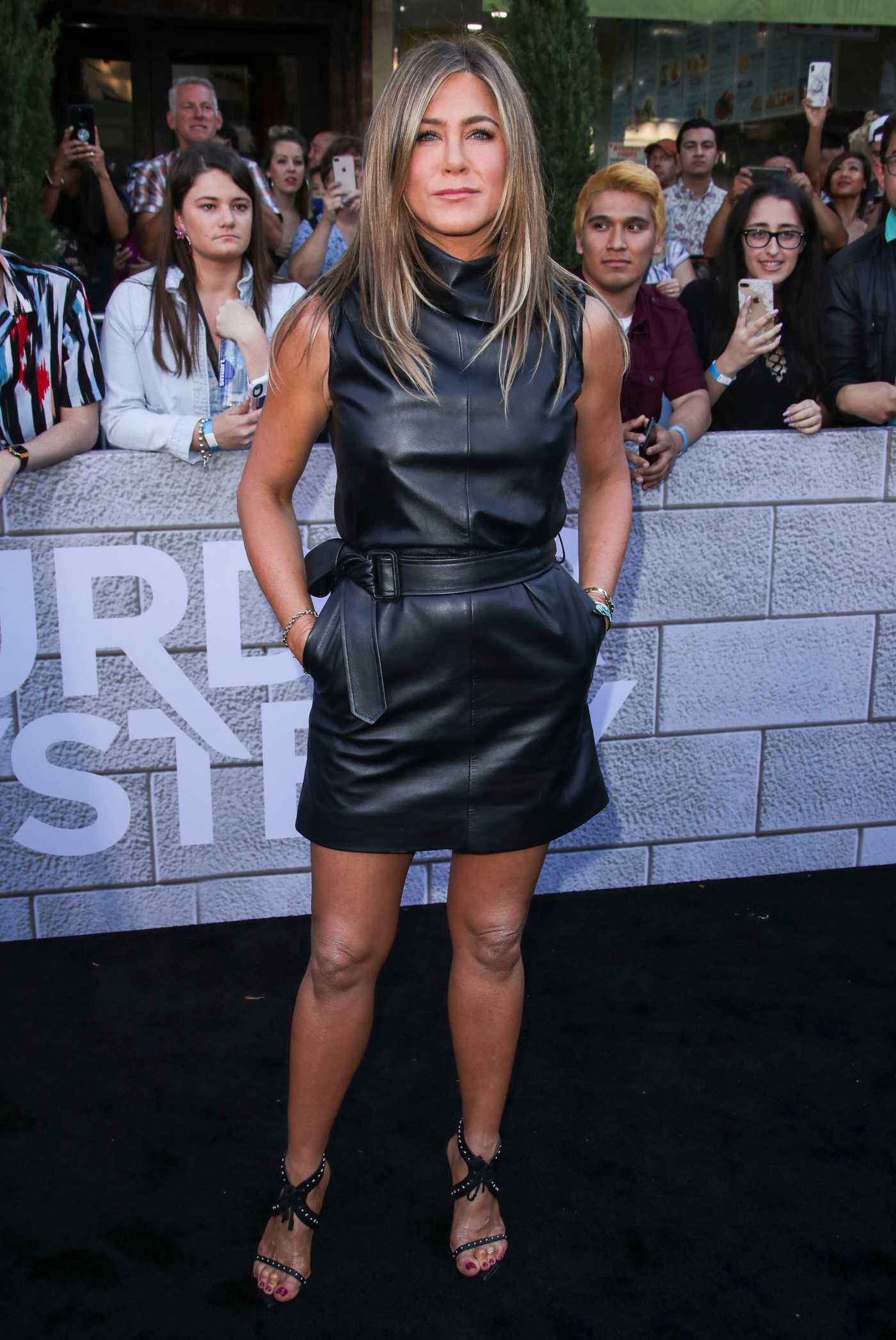 Jennifer Aniston Attends Murder Mystery Premiere in Los Angeles 06/10/2019