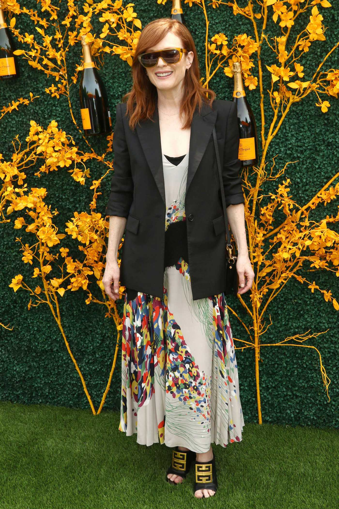 Julianne Moore Attends the 12th Annual Veuve Clicquot Polo Classic at Liberty State Park in New Jersey 06/01/2019