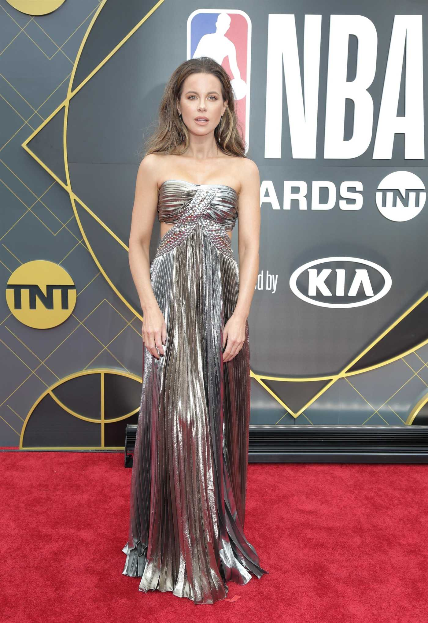 Kate Beckinsale Attends 2019 NBA Awards in Santa Monica 06/24/2019